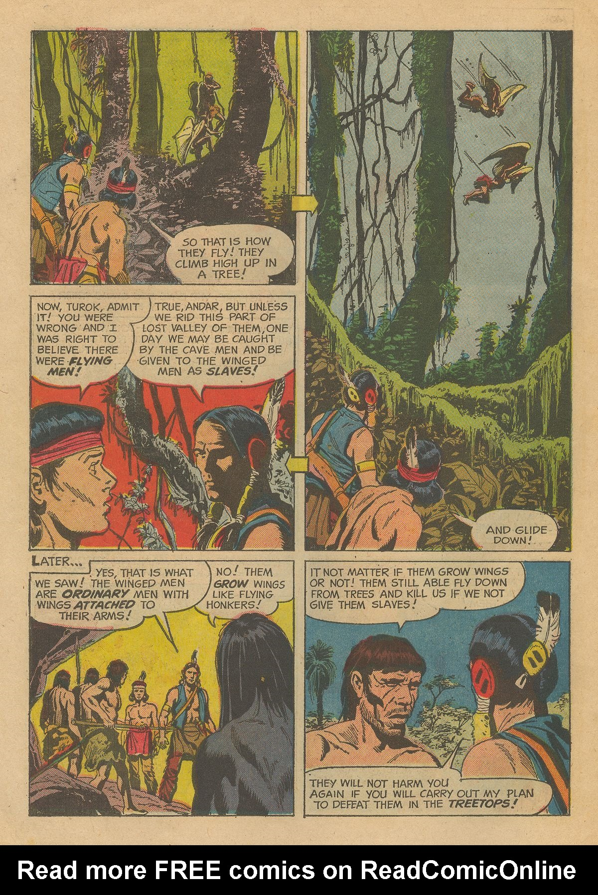 Read online Turok, Son of Stone comic -  Issue #54 - 30