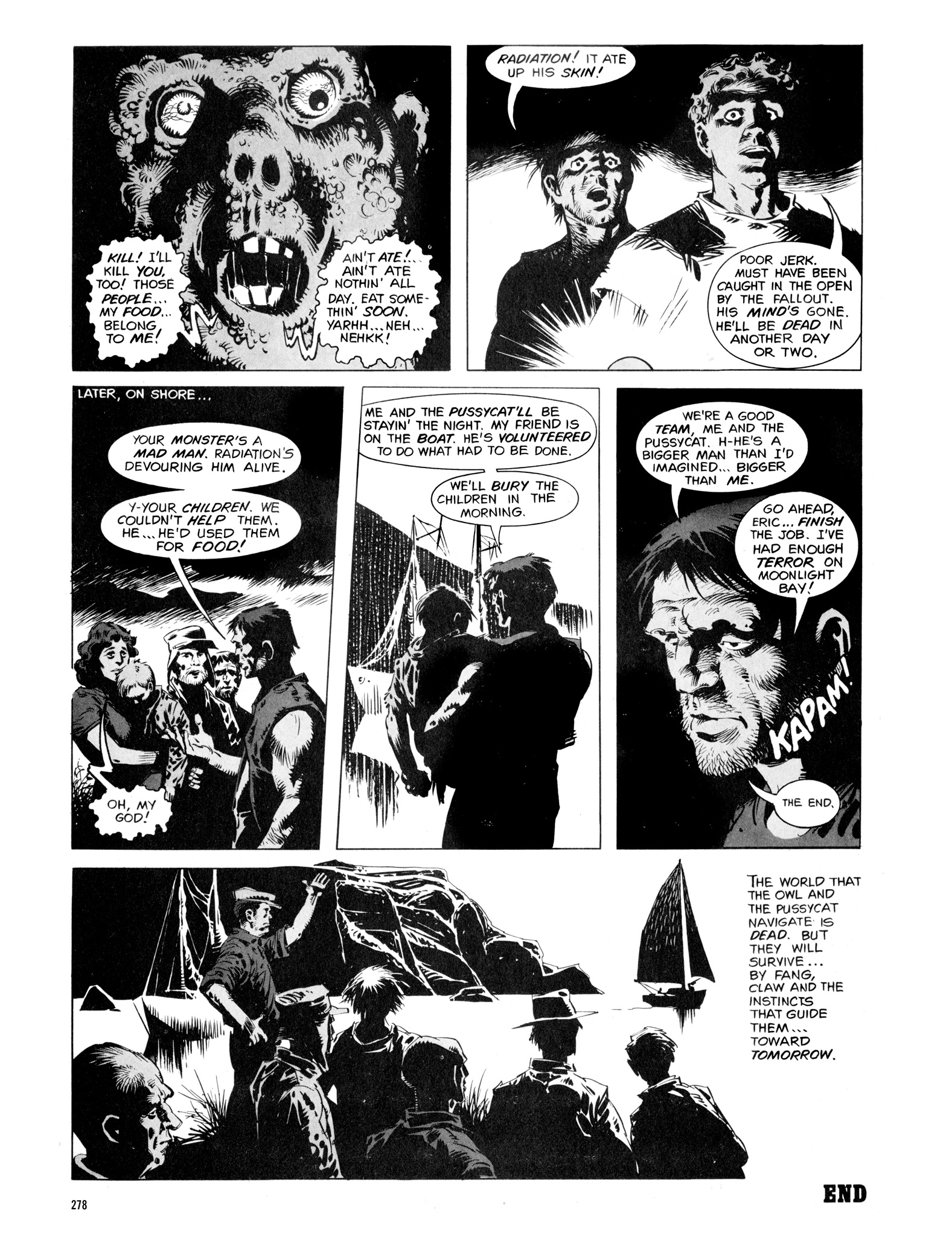 Read online Eerie Archives comic -  Issue # TPB 16 - 279