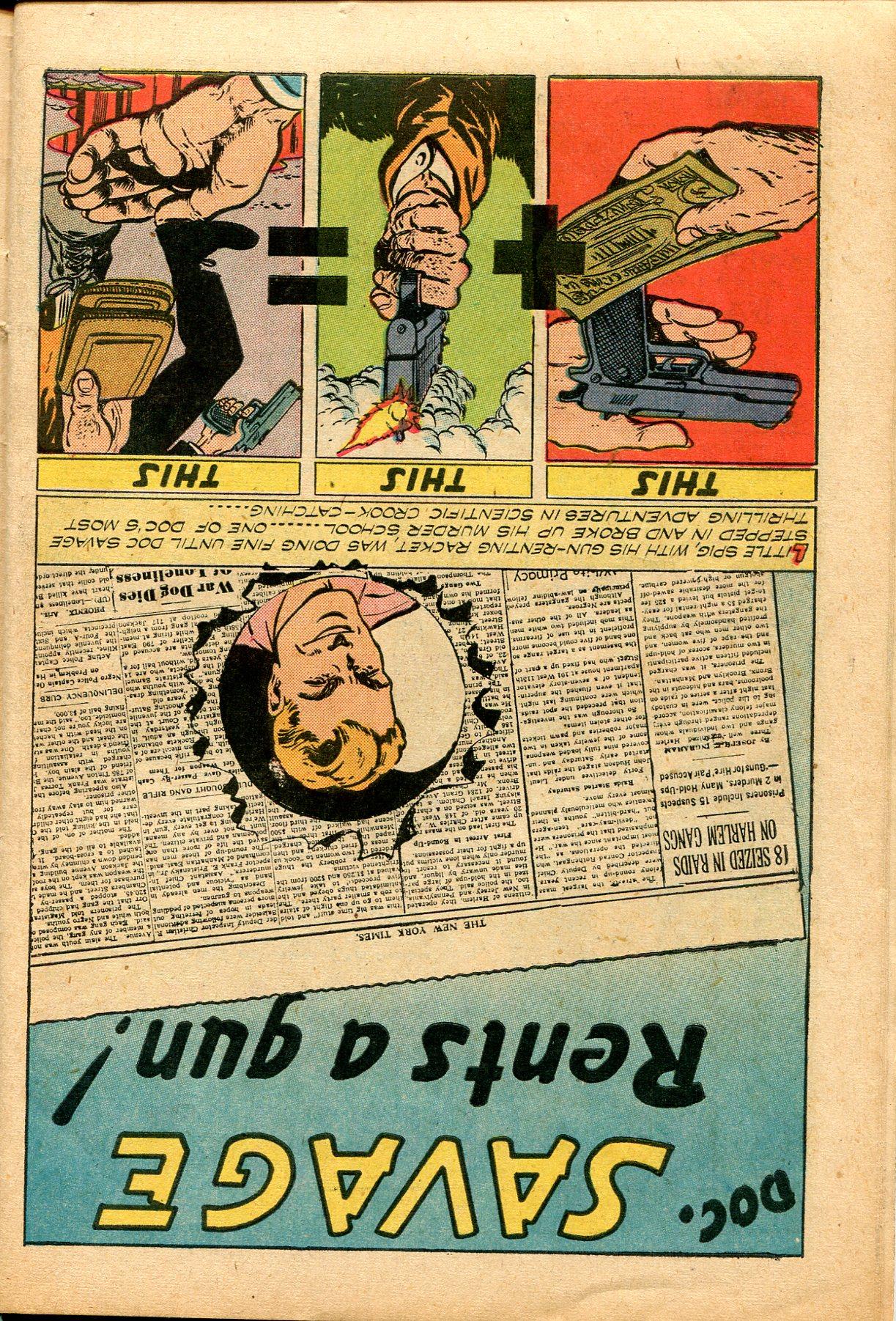 Read online Shadow Comics comic -  Issue #82 - 38