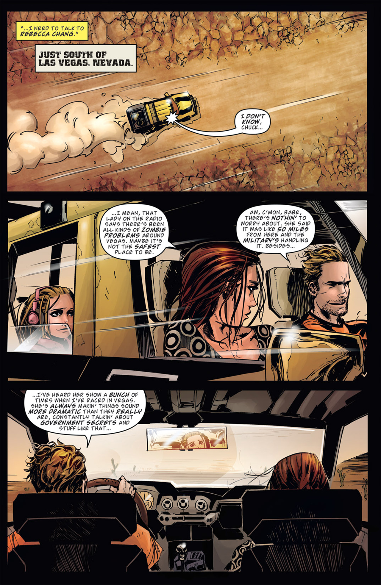 Read online Dead Rising: Road to Fortune comic -  Issue # TPB - 25