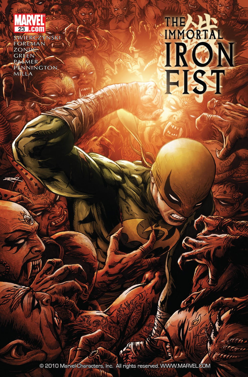 The Immortal Iron Fist issue 23 - Page 1