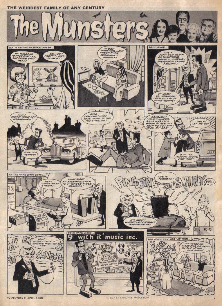 Read online TV Century 21 (TV 21) comic -  Issue #116 - 9