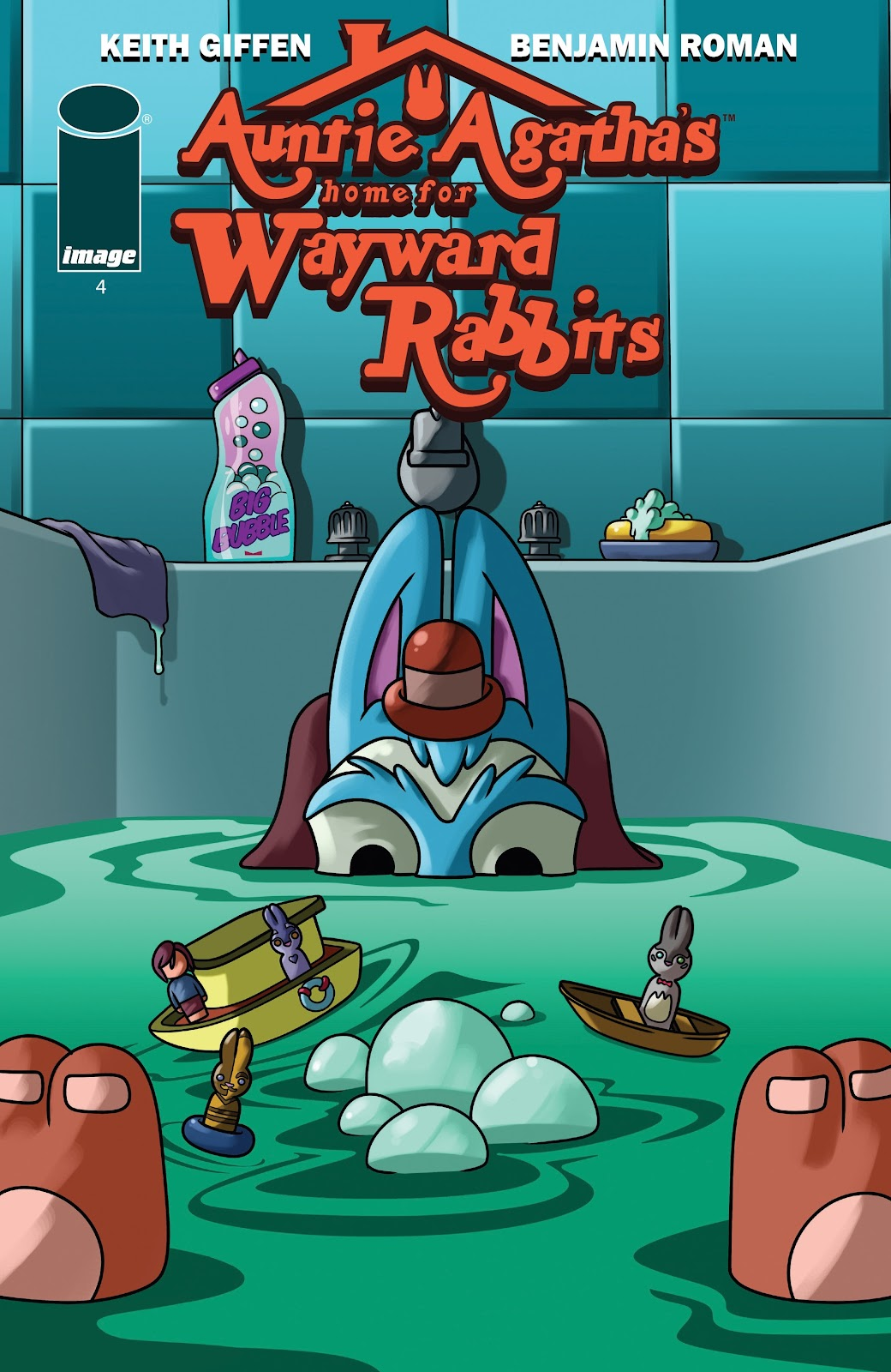 Read online Auntie Agatha's Home For Wayward Rabbits comic -  Issue #4 - 1