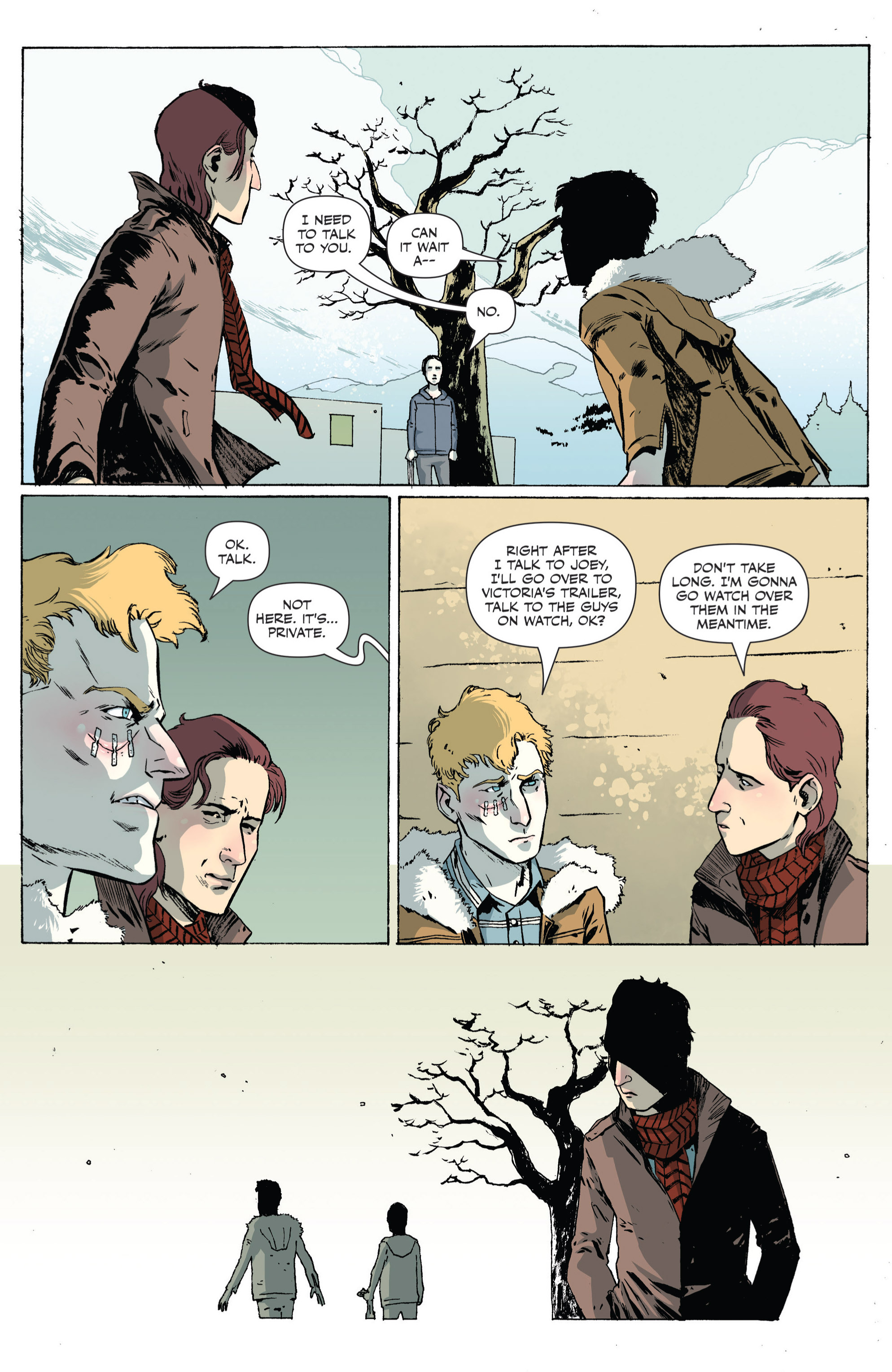 Read online Sheltered comic -  Issue #4 - 12