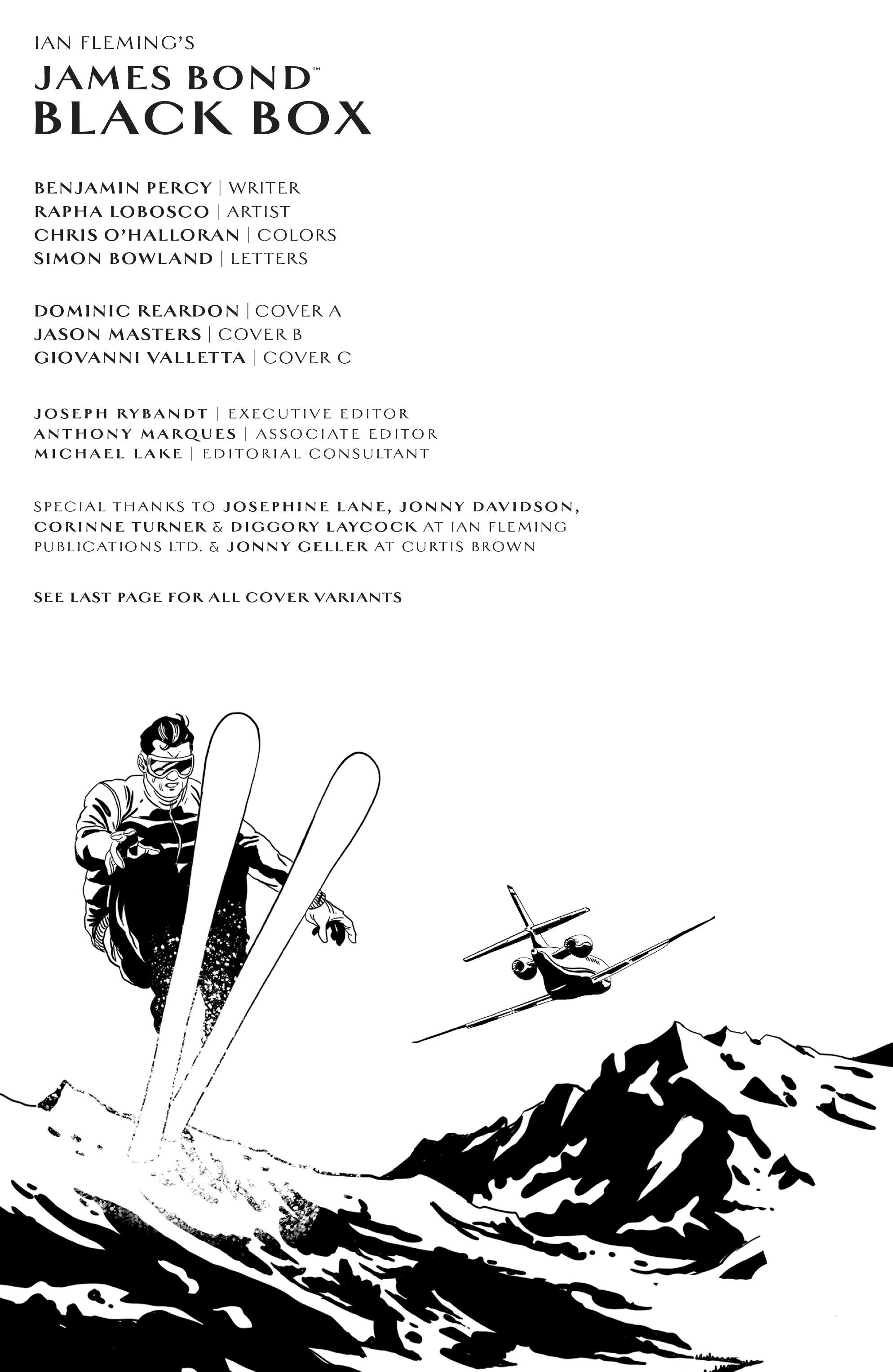 Read online James Bond (2017) comic -  Issue #2 - 2