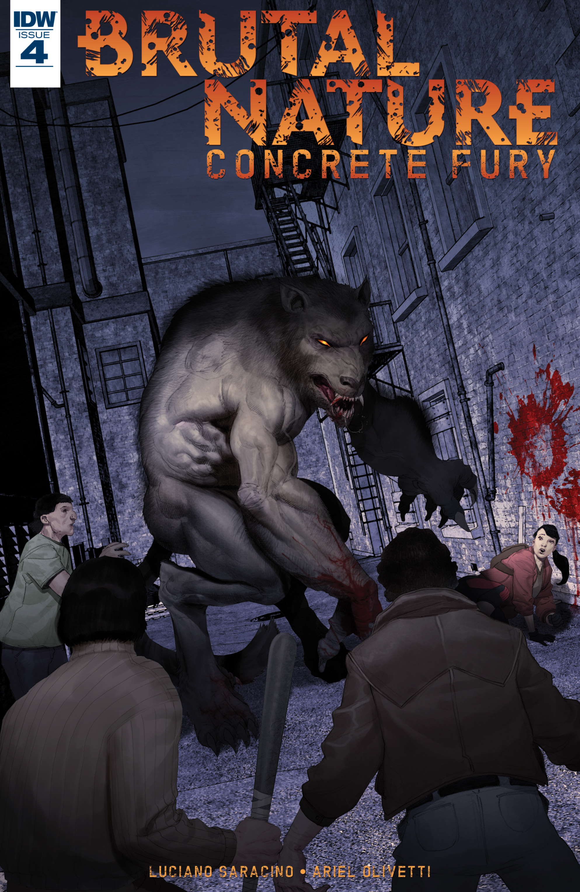 Read online Brutal Nature: Concrete Fury comic -  Issue #4 - 1
