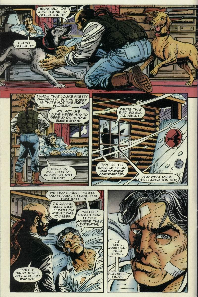 Read online Harbinger Files comic -  Issue #1 - 8