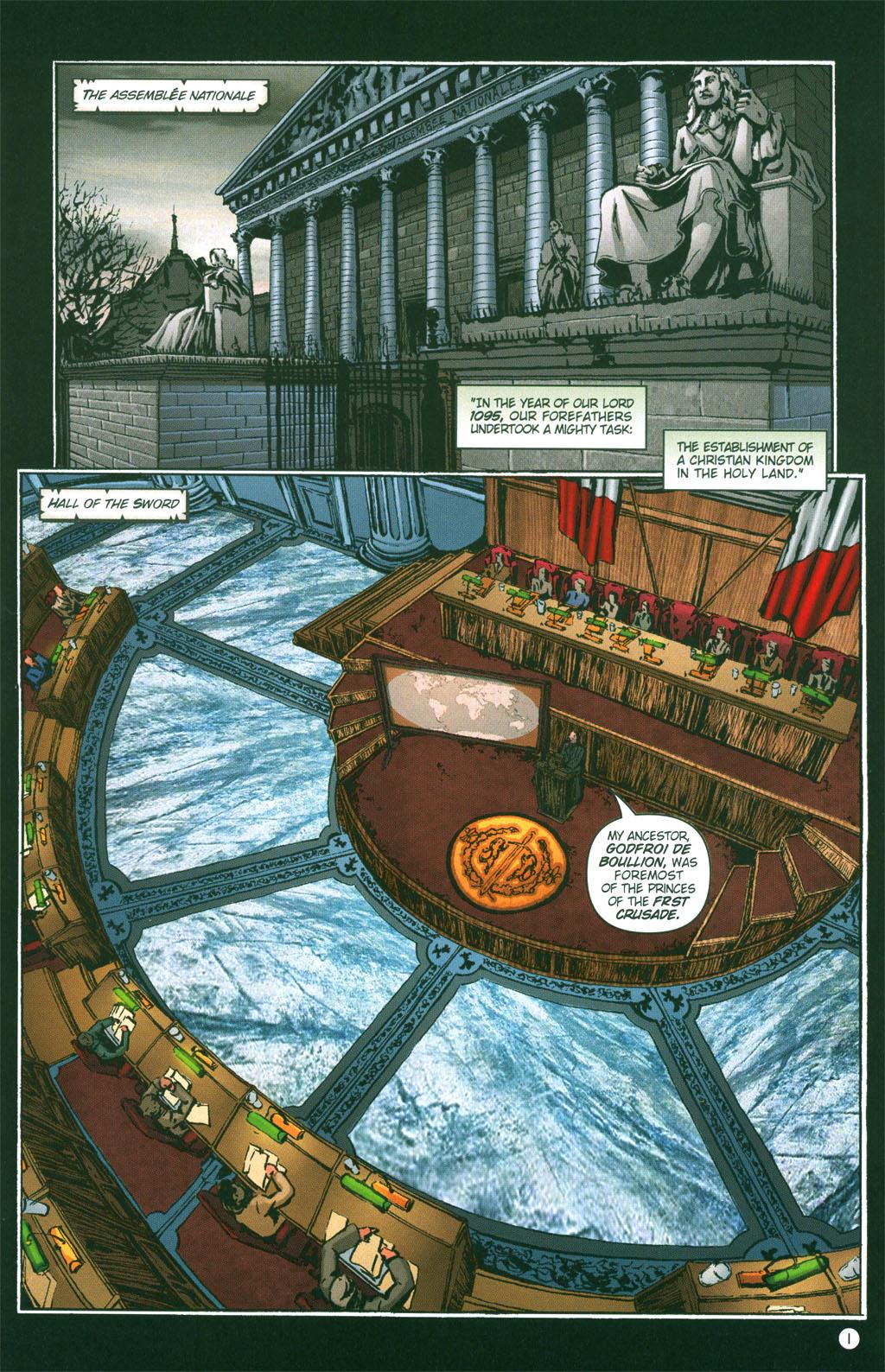 Read online Rex Mundi comic -  Issue #3 - 3
