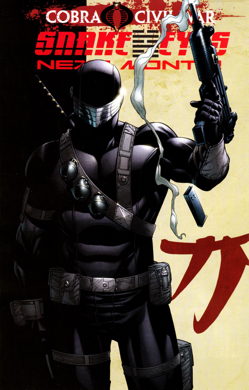 Read online G.I. Joe: Snake Eyes comic -  Issue #3 - 27