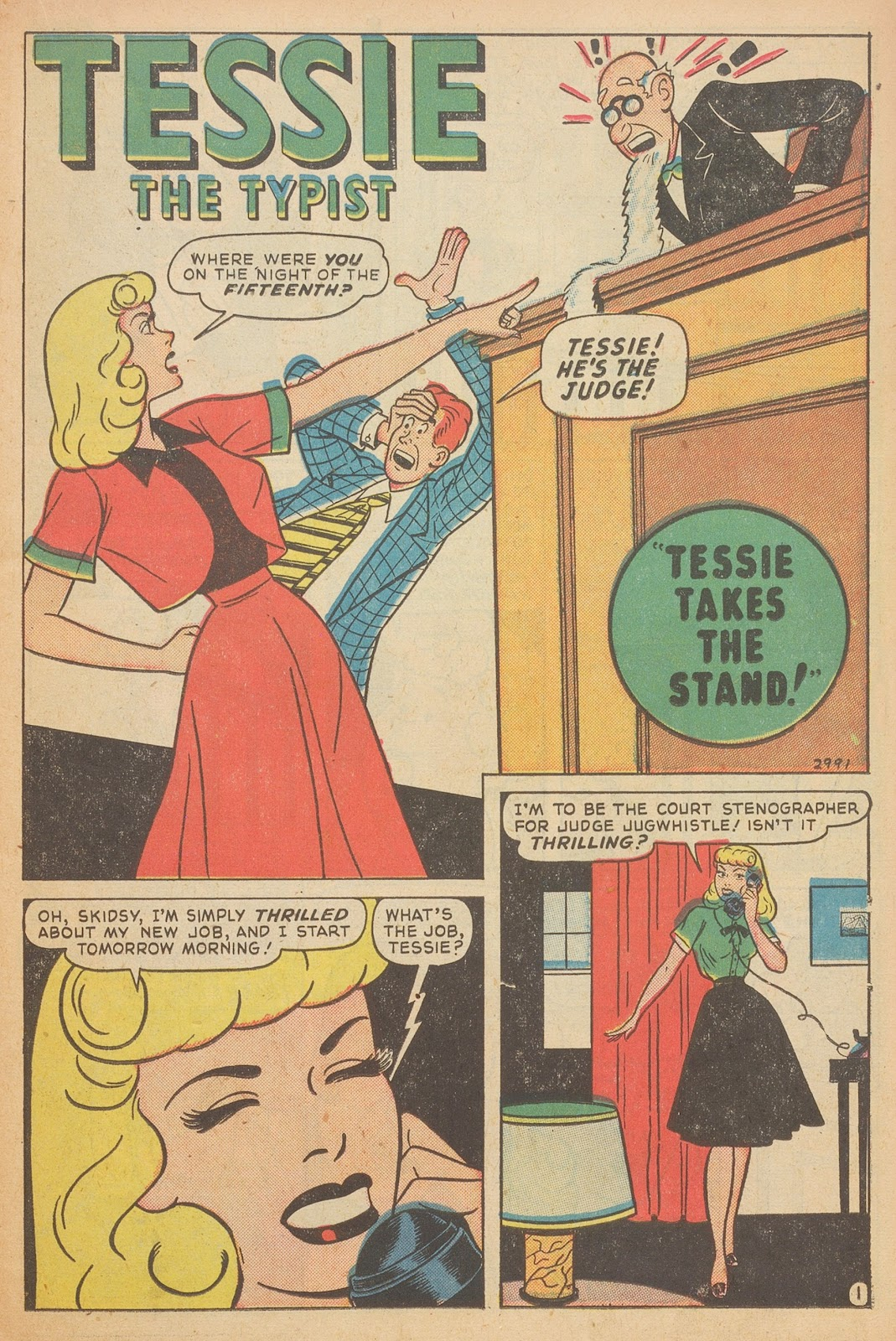 Read online Nellie The Nurse (1945) comic -  Issue #15 - 19