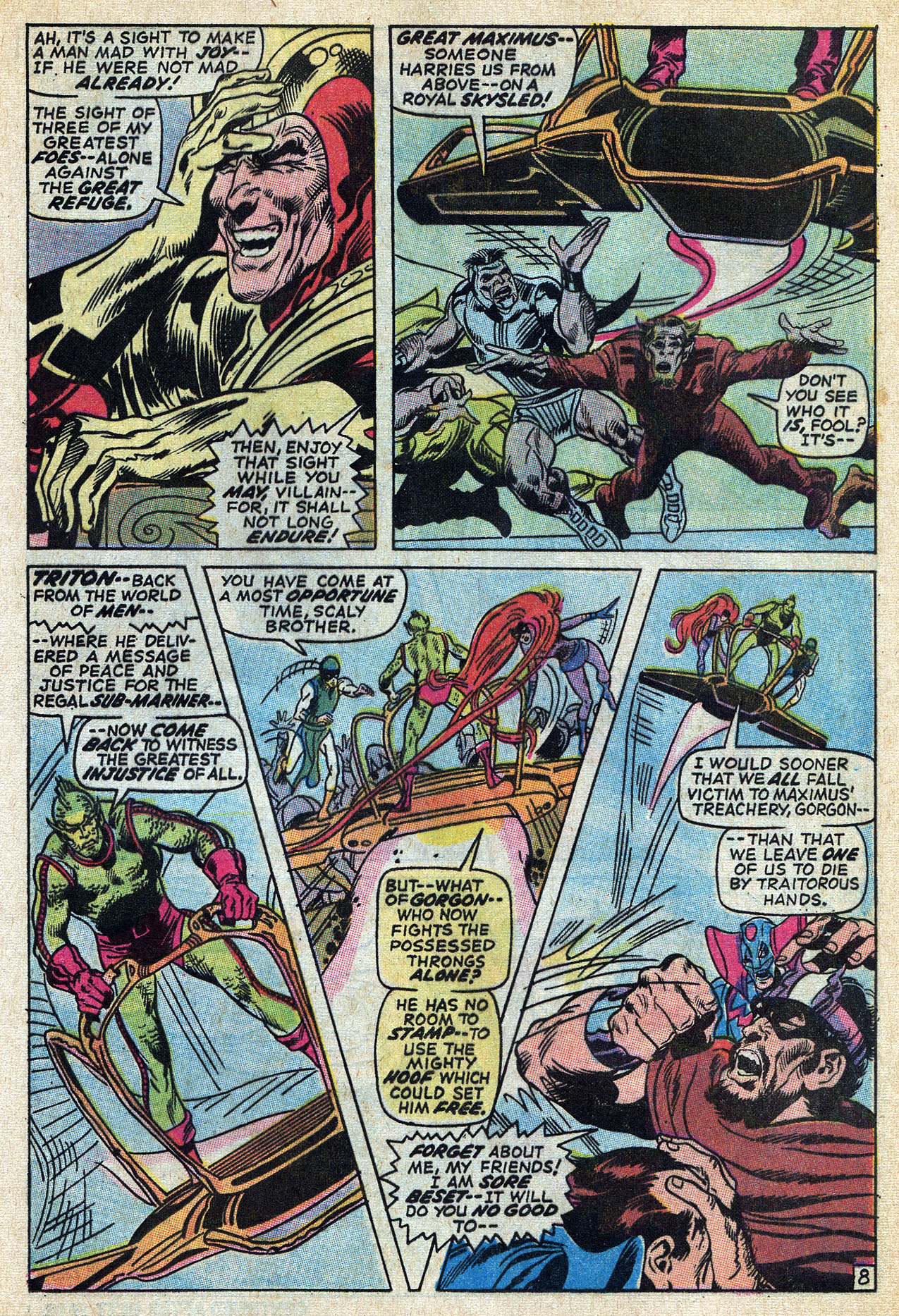 Read online Amazing Adventures (1970) comic -  Issue #6 - 13
