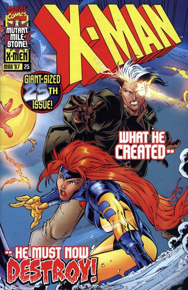X-Man 25 Page 1