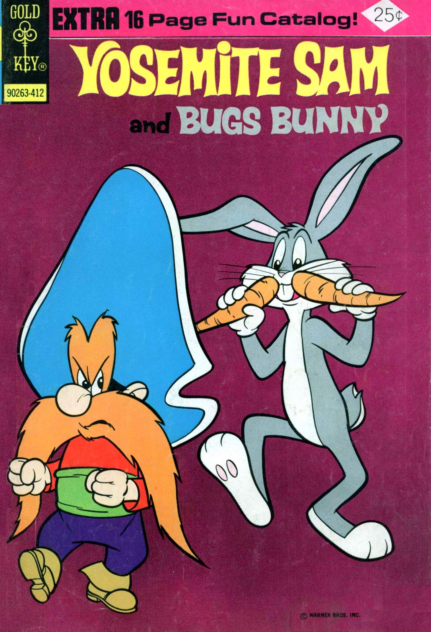 Yosemite Sam and Bugs Bunny 25 Page 1