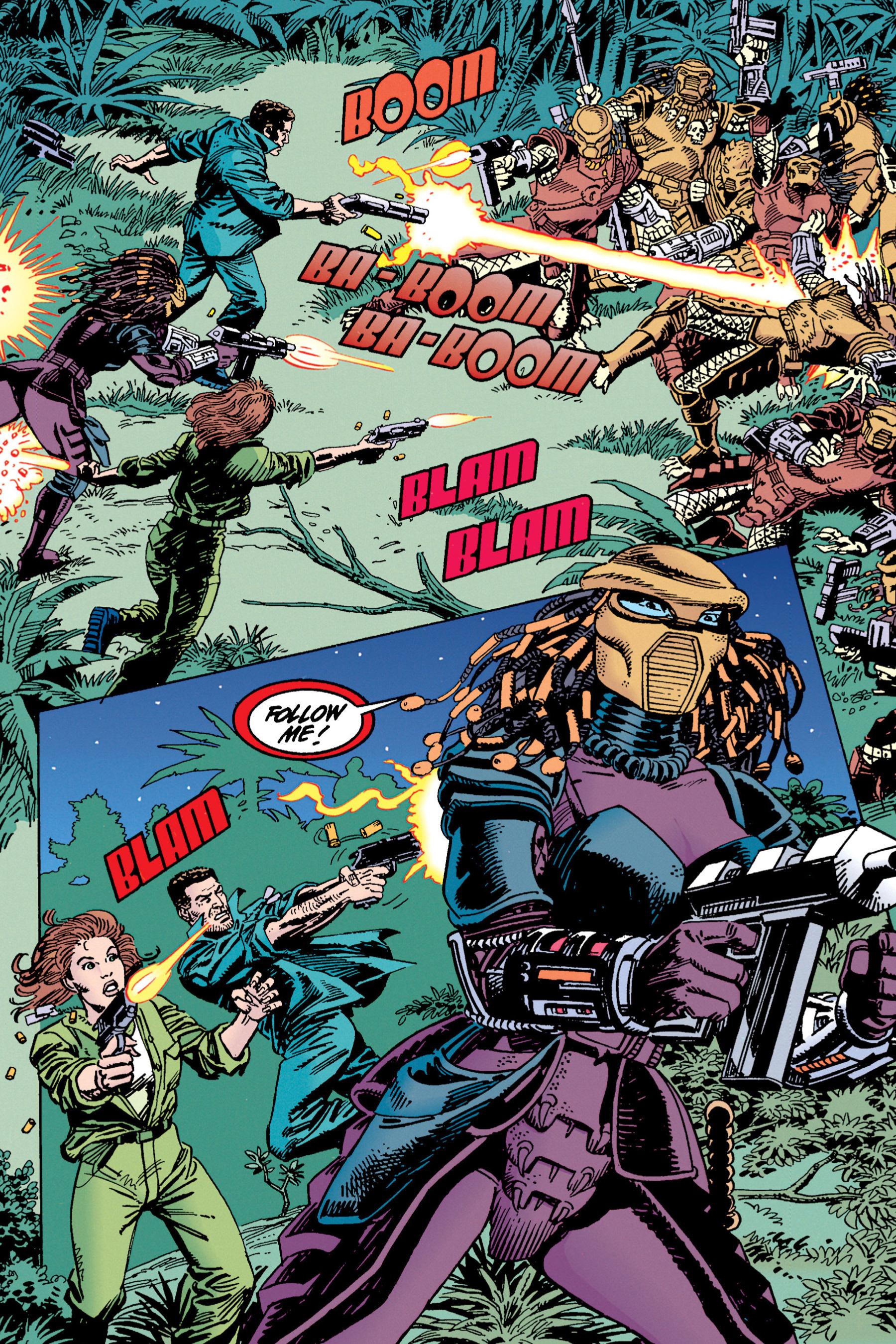 Read online Aliens vs. Predator Omnibus comic -  Issue # _TPB 1 Part 4 - 17