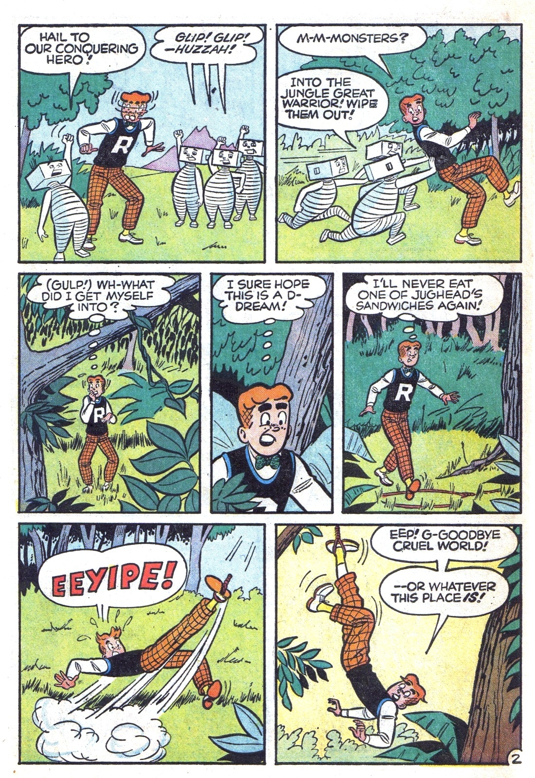 Read online Archie (1960) comic -  Issue #131 - 30