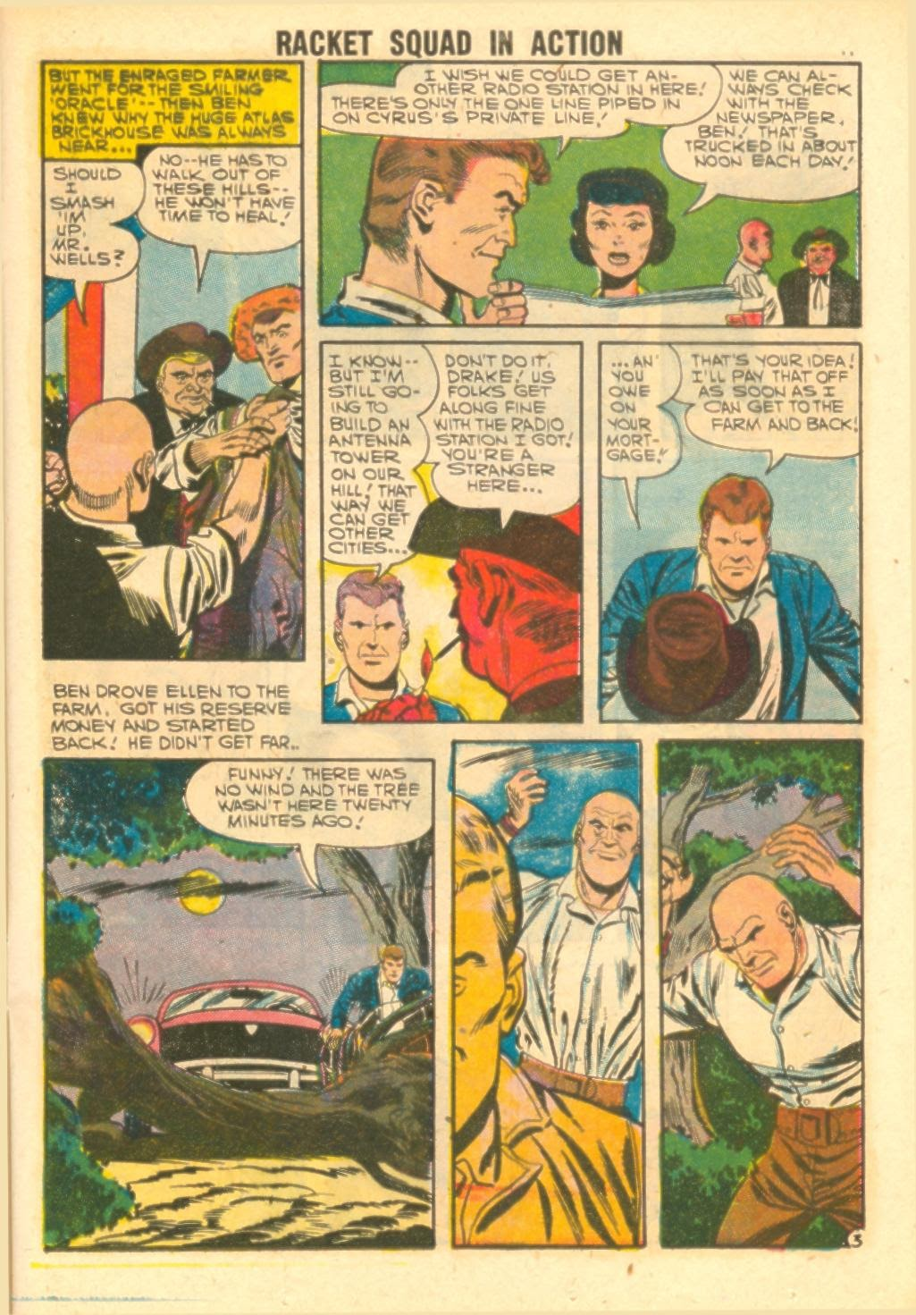 Read online Racket Squad in Action comic -  Issue #26 - 13