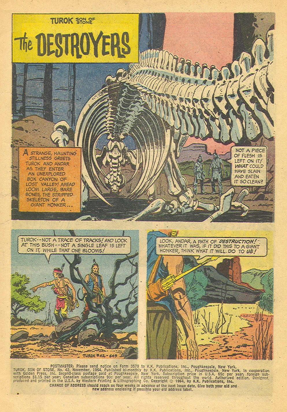 Read online Turok, Son of Stone comic -  Issue #42 - 3
