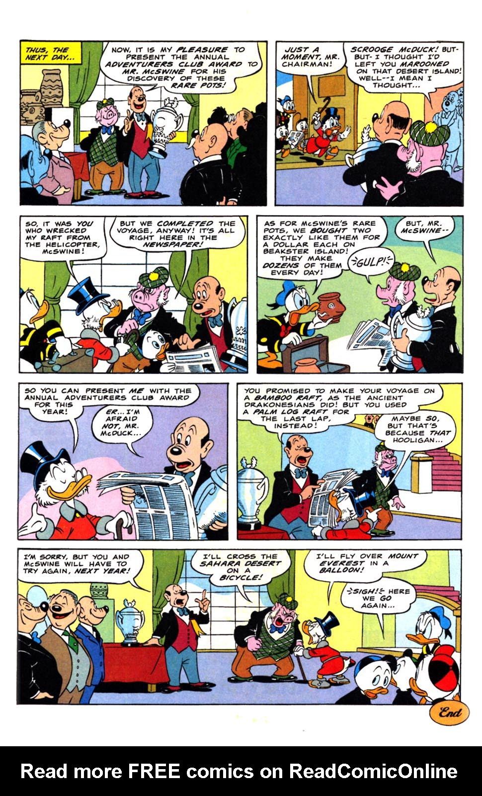 Read online Uncle Scrooge (1953) comic -  Issue #244 - 23