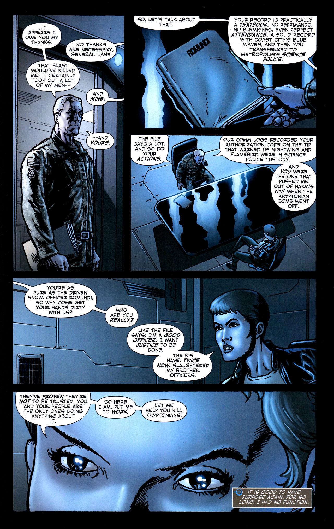 Read online Adventure Comics (2009) comic -  Issue #8 - 20