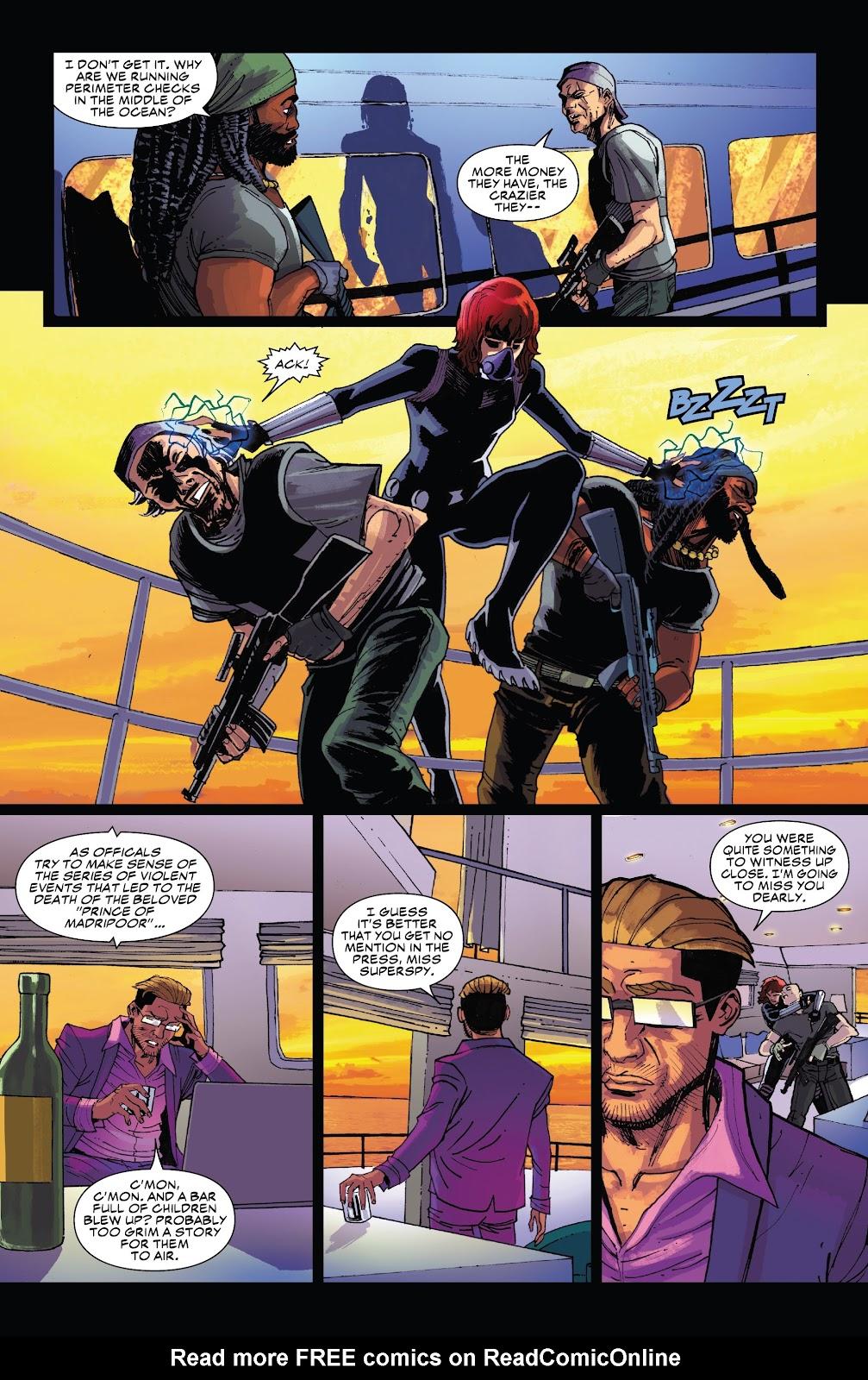 Read online Black Widow (2019) comic -  Issue #5 - 12