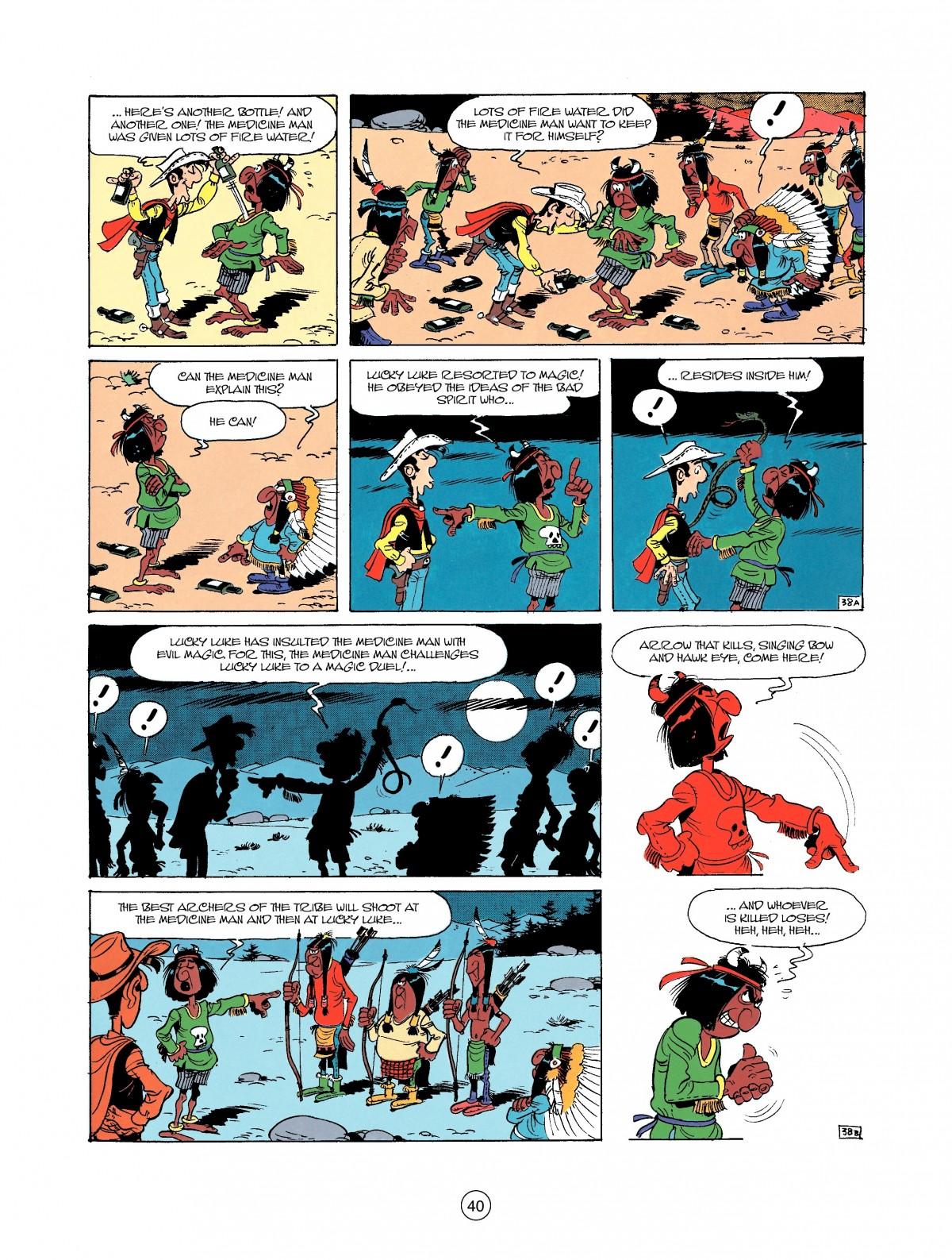 Read online A Lucky Luke Adventure comic -  Issue #37 - 40