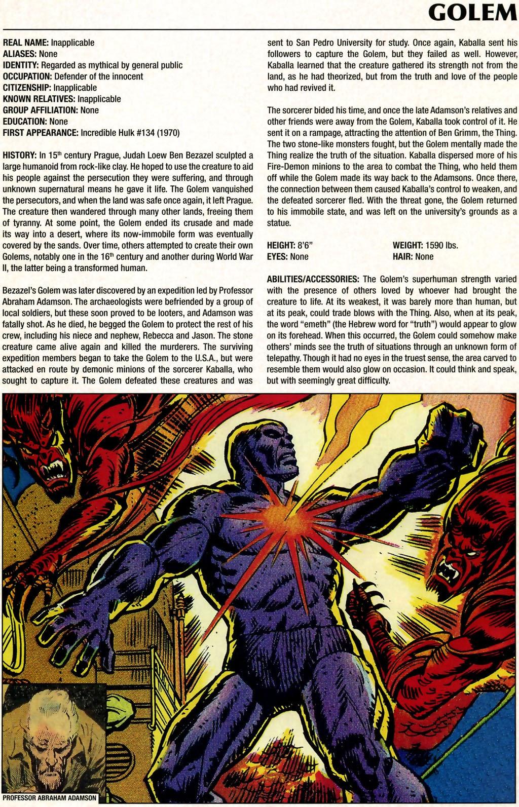 Read online Marvel Legacy: The 1970's Handbook comic -  Issue # Full - 29