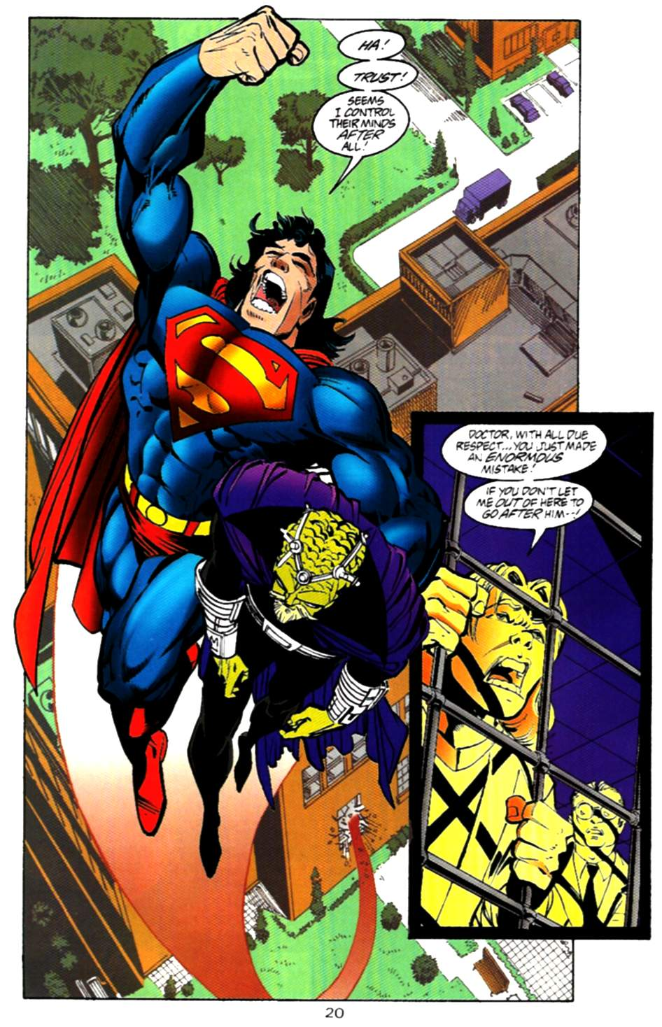 Read online Adventures of Superman (1987) comic -  Issue #536 - 21