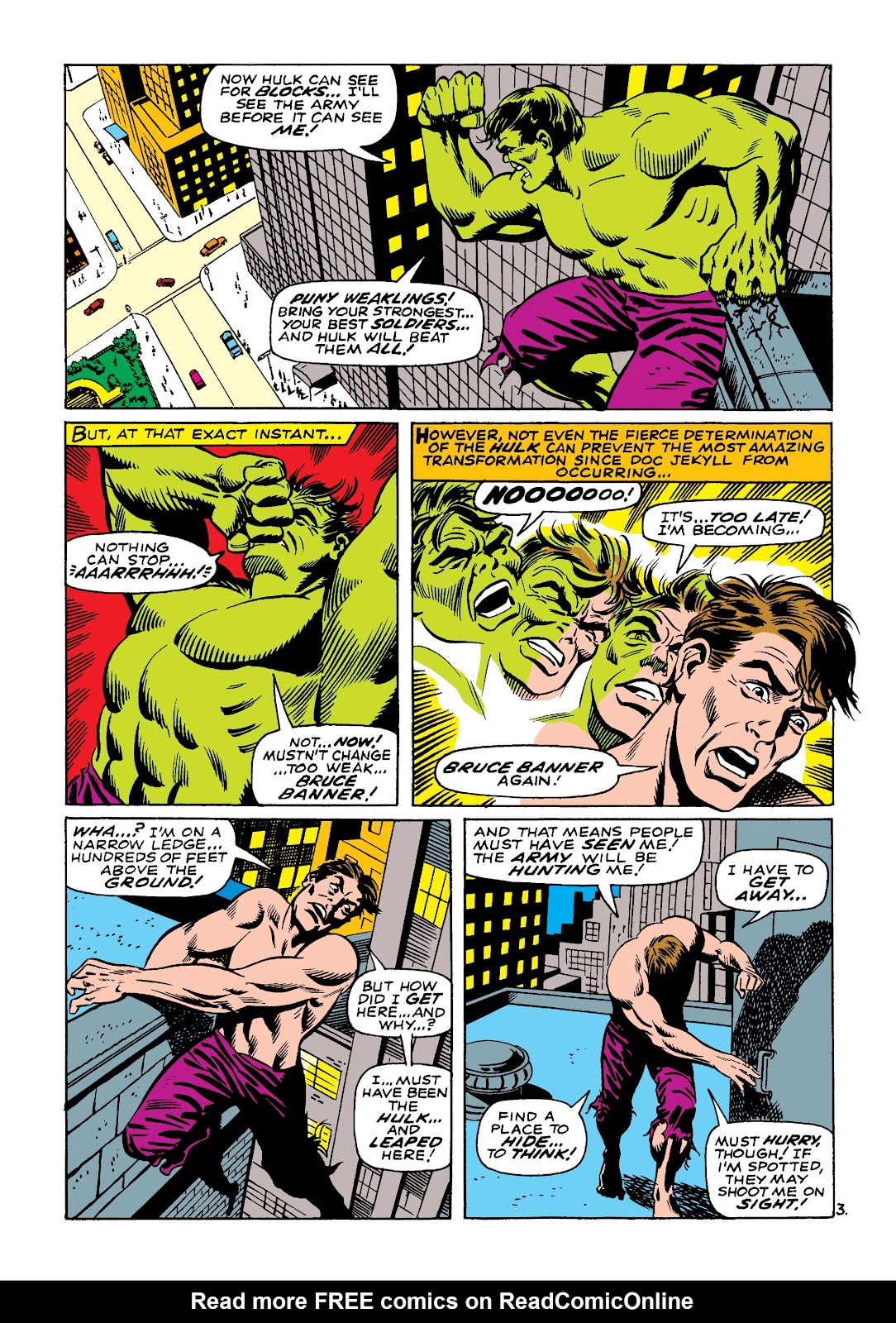 Read online Marvel Masterworks: The Incredible Hulk comic -  Issue # TPB 4 (Part 1) - 10