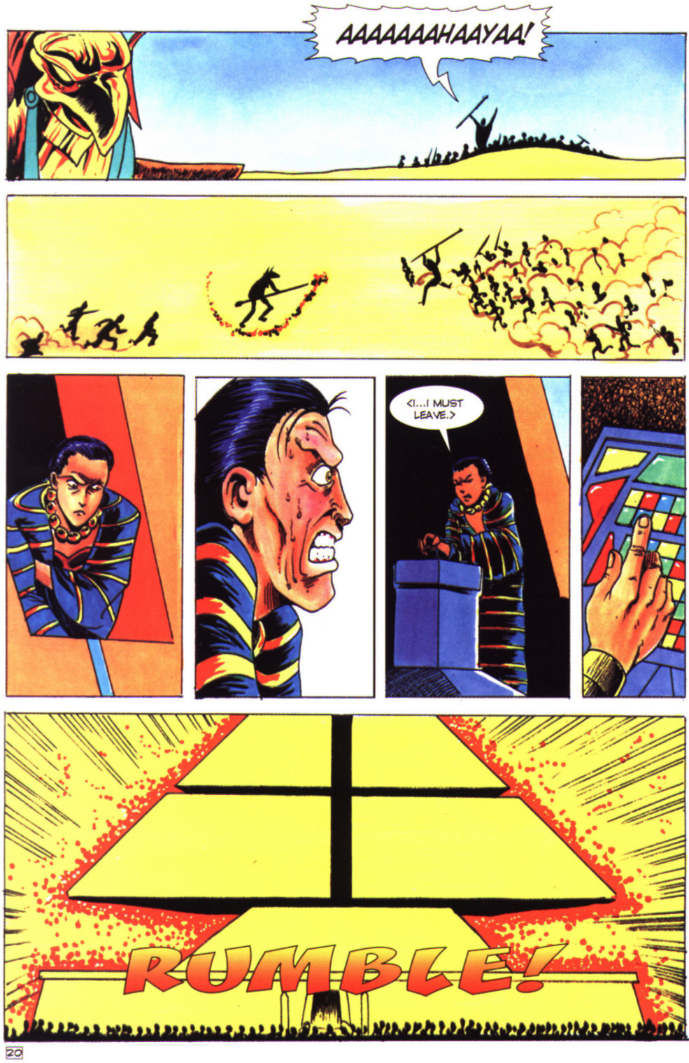 Read online Stargate comic -  Issue #4 - 22