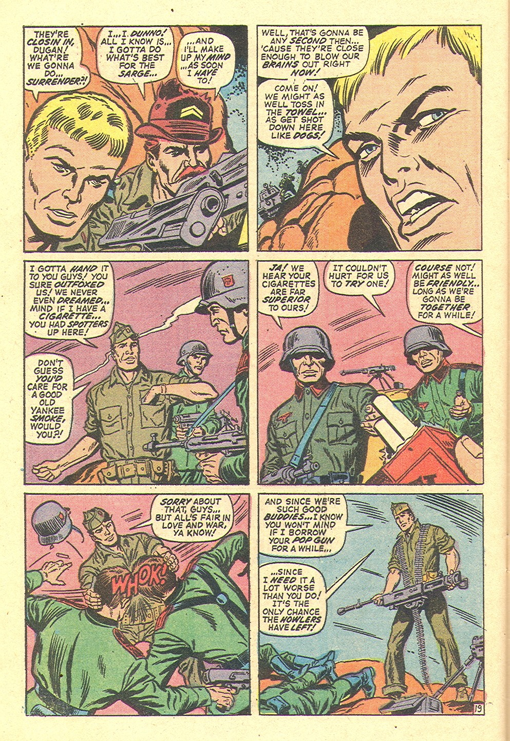 Read online Sgt. Fury comic -  Issue #97 - 28