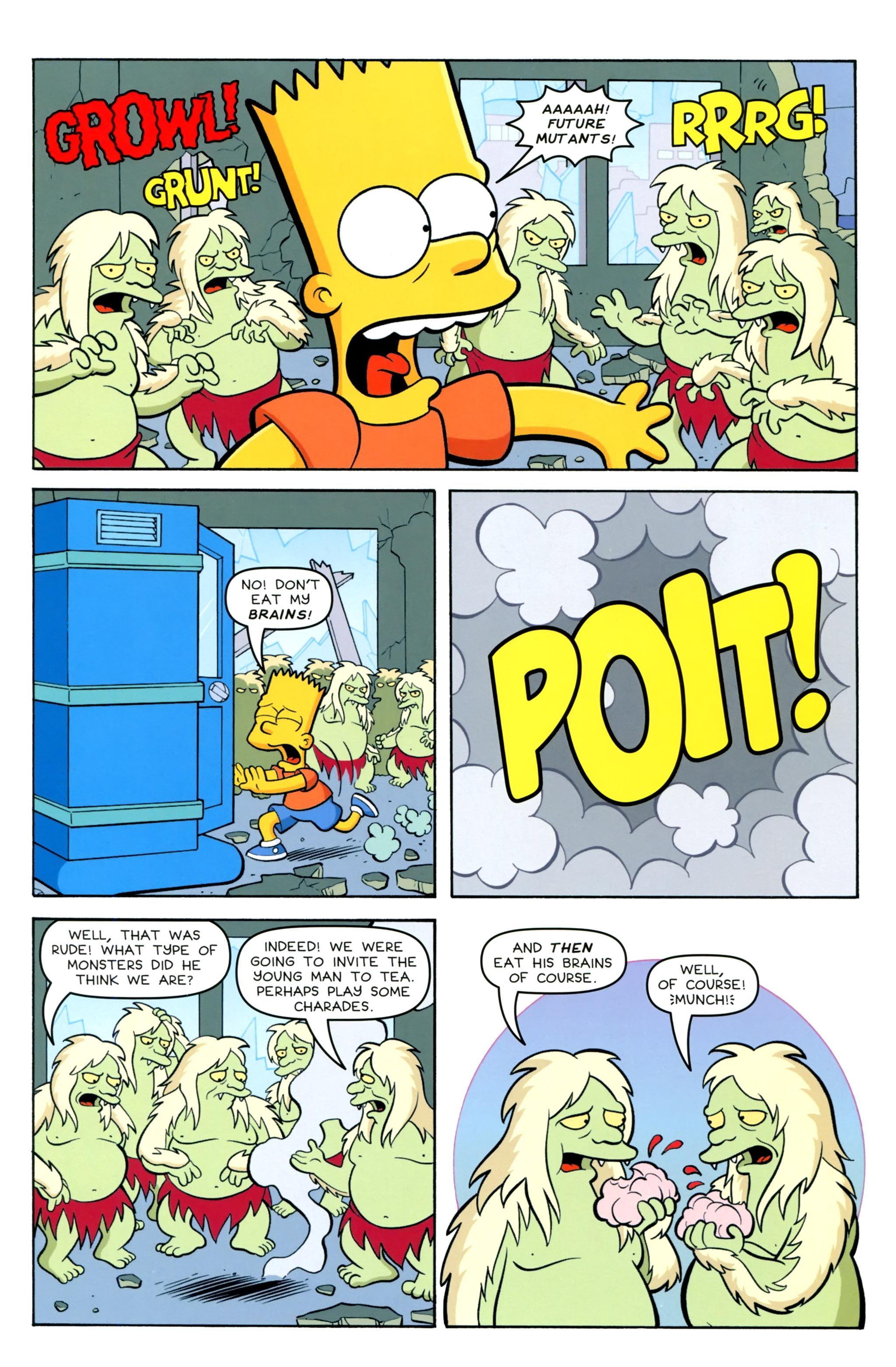 Read online Simpsons Comics Presents Bart Simpson comic -  Issue #100 - 12