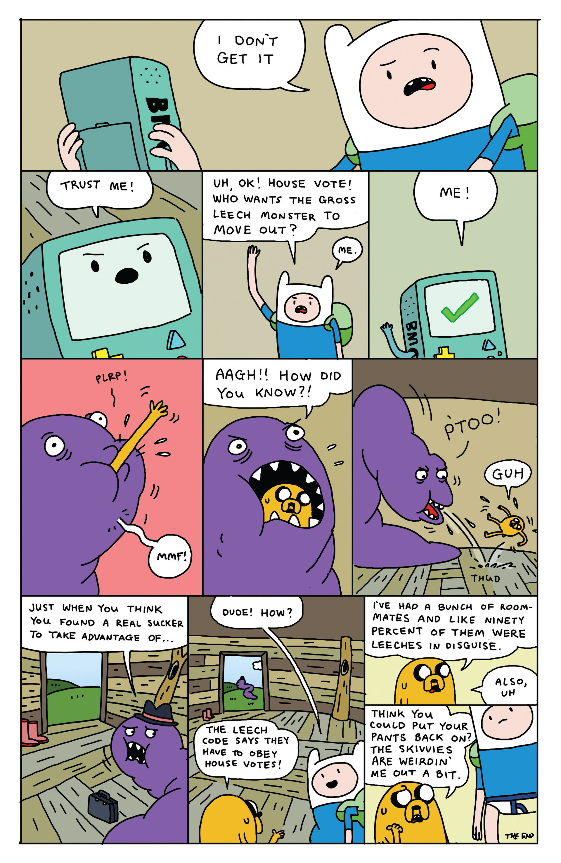 Read online Adventure Time 2013 Summer Special comic -  Issue #Adventure Time 2013 Summer Special Full - 19