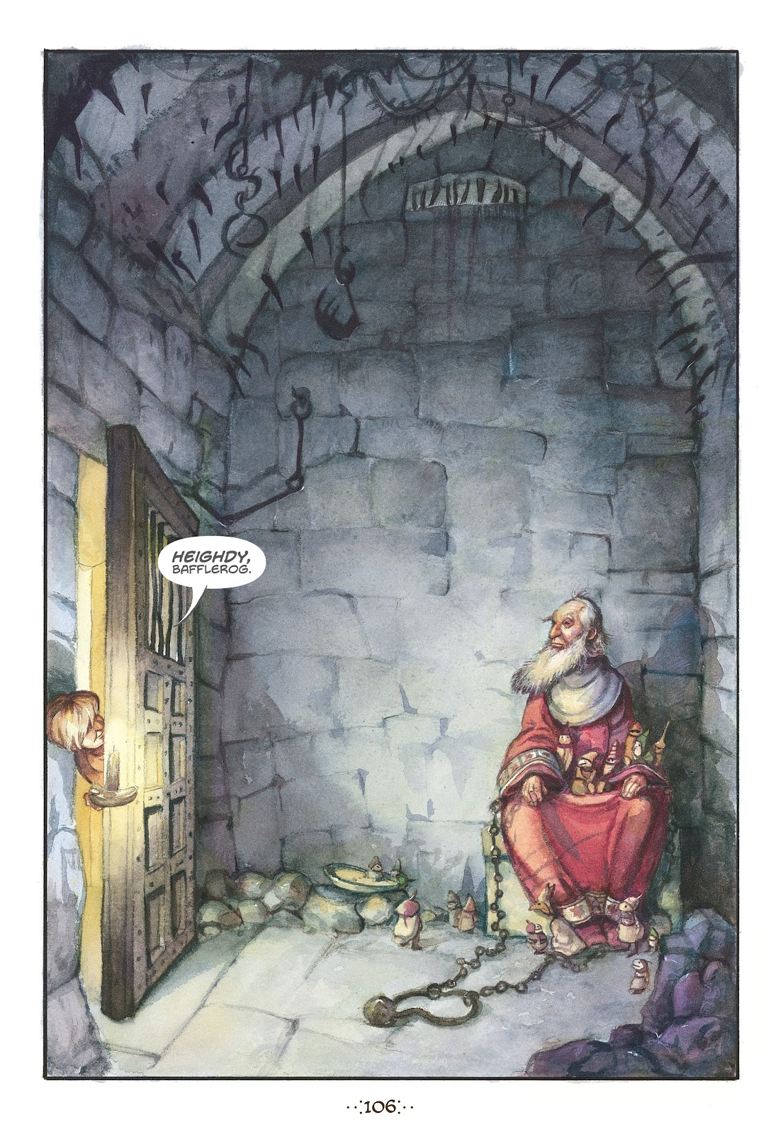 Read online The Wizard's Tale comic -  Issue # TPB - 101