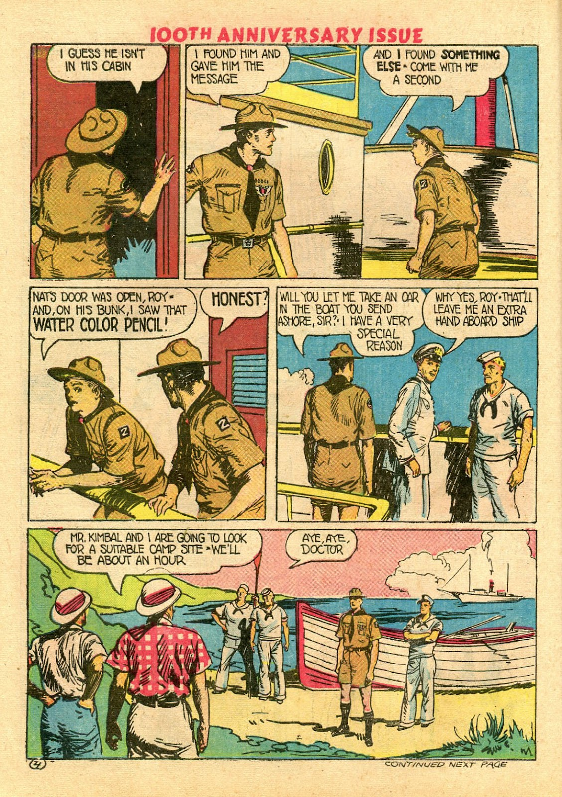 Read online Famous Funnies comic -  Issue #100 - 54