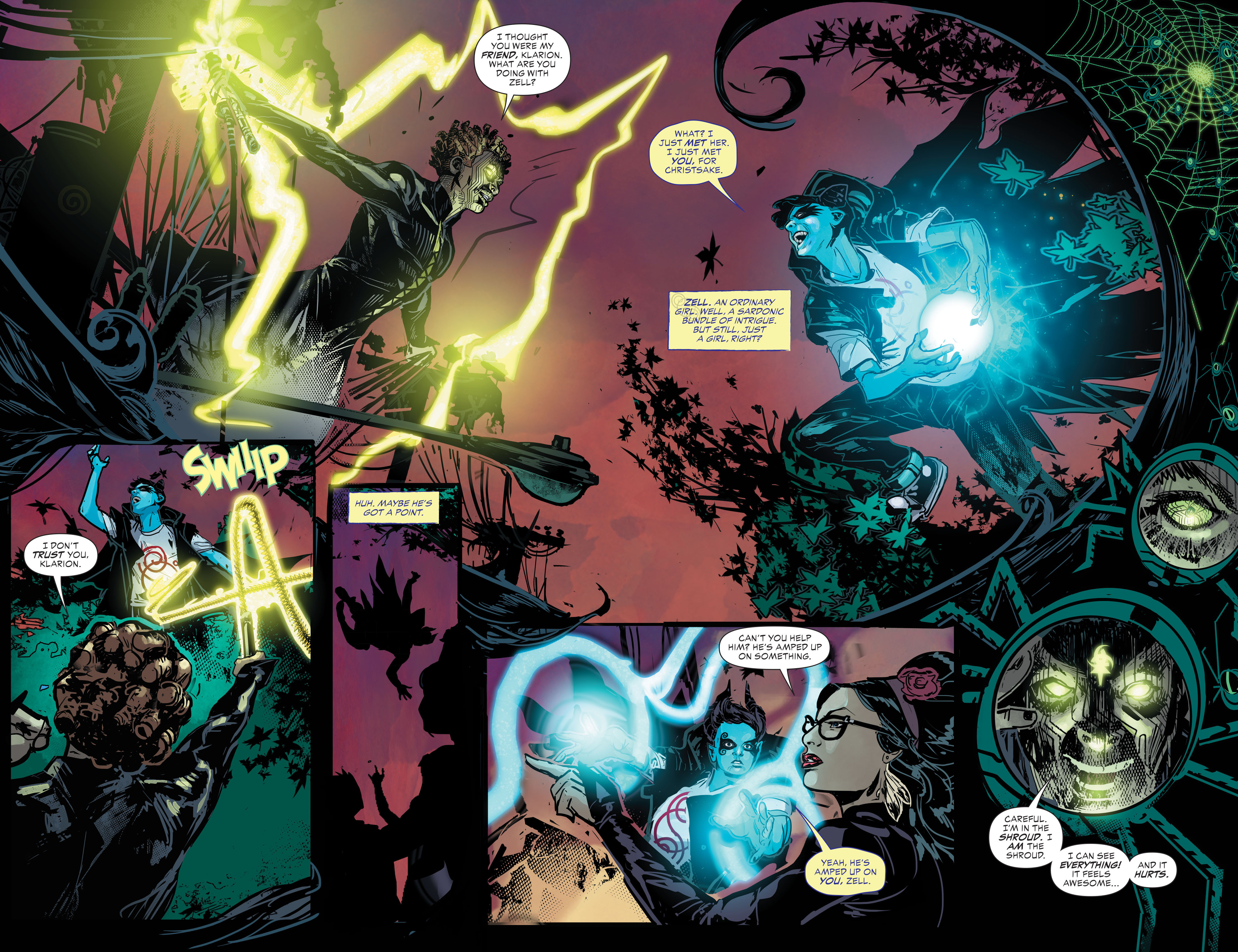 Read online Klarion comic -  Issue #2 - 3