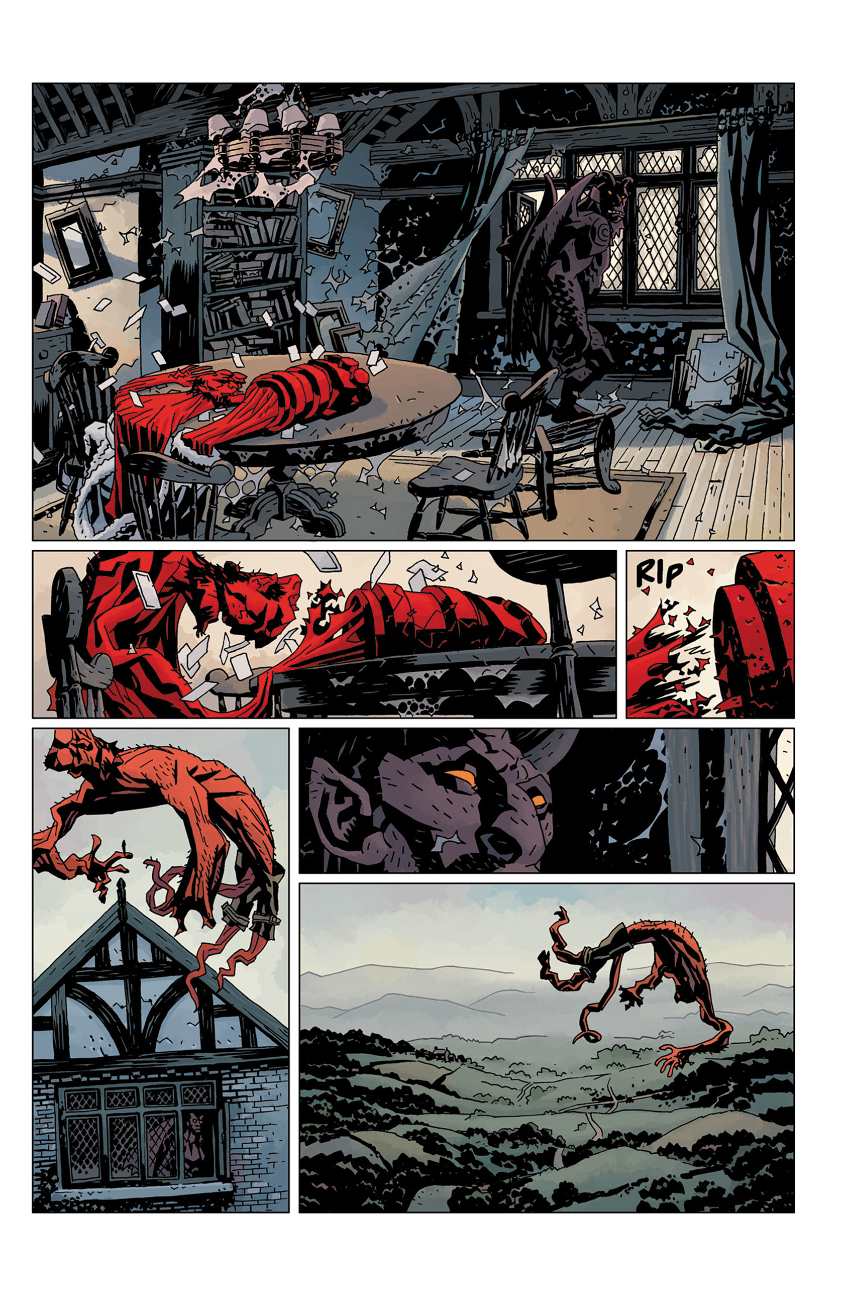 Read online Hellboy: The Crooked Man and Others comic -  Issue # TPB - 139