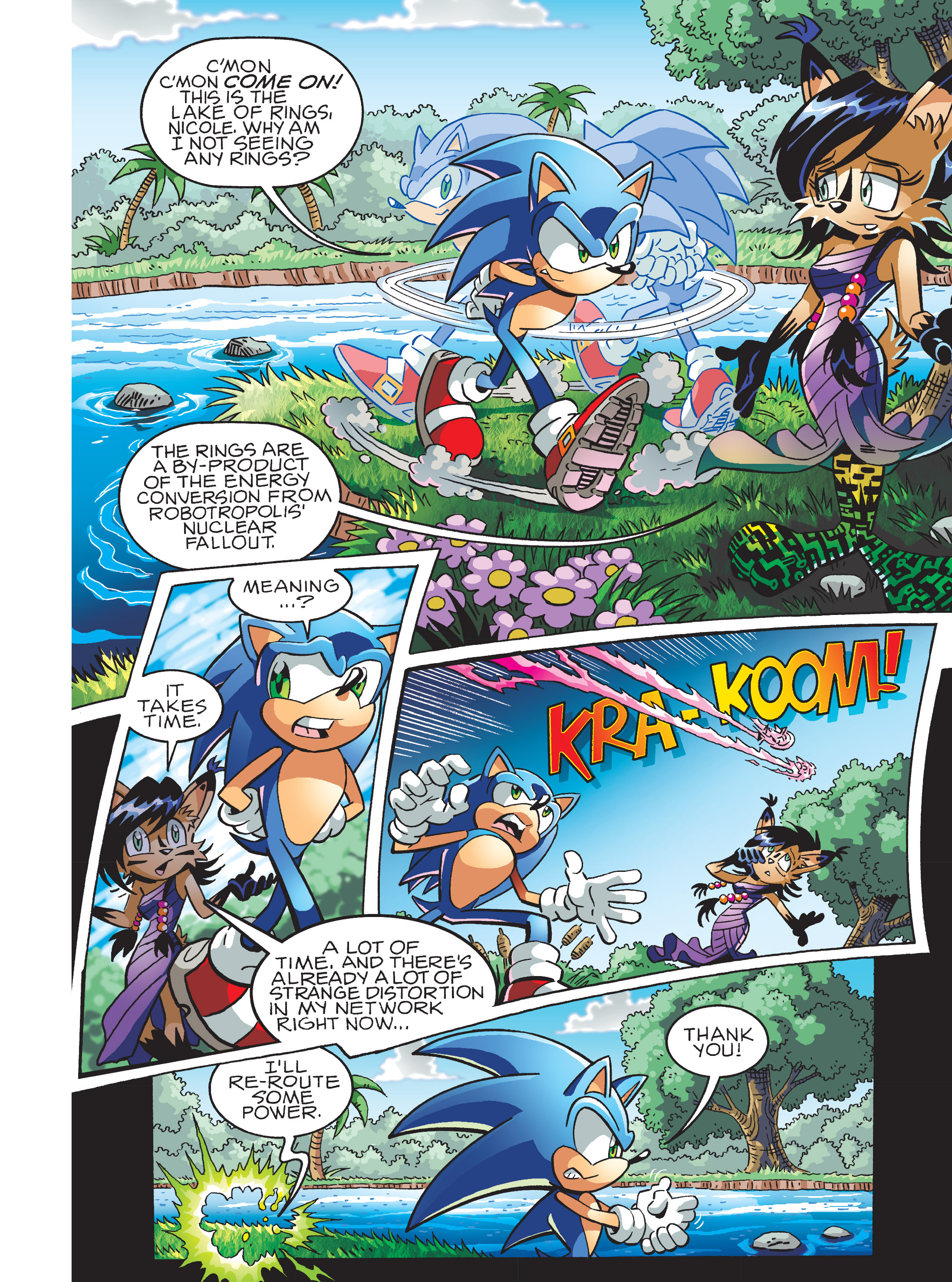 Read online Sonic Super Digest comic -  Issue #7 - 34