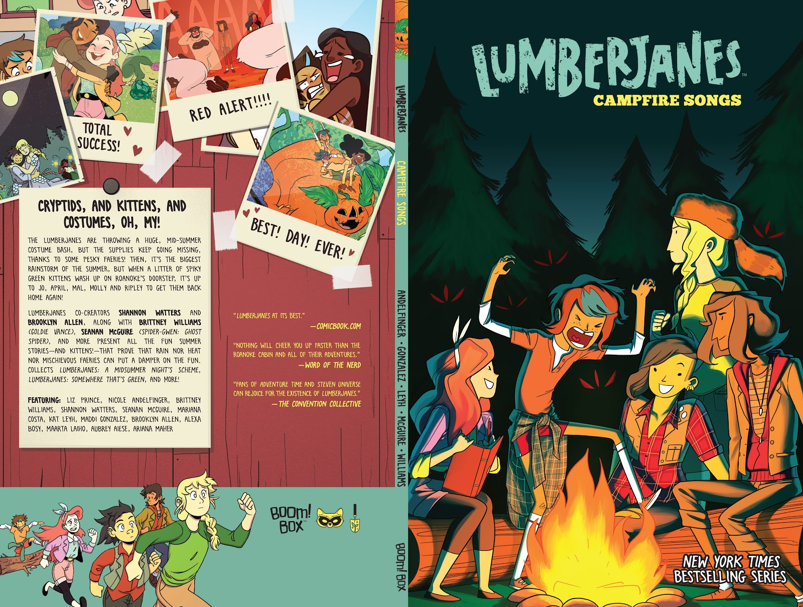 Lumberjanes: Campfire Songs issue TPB - Page 1