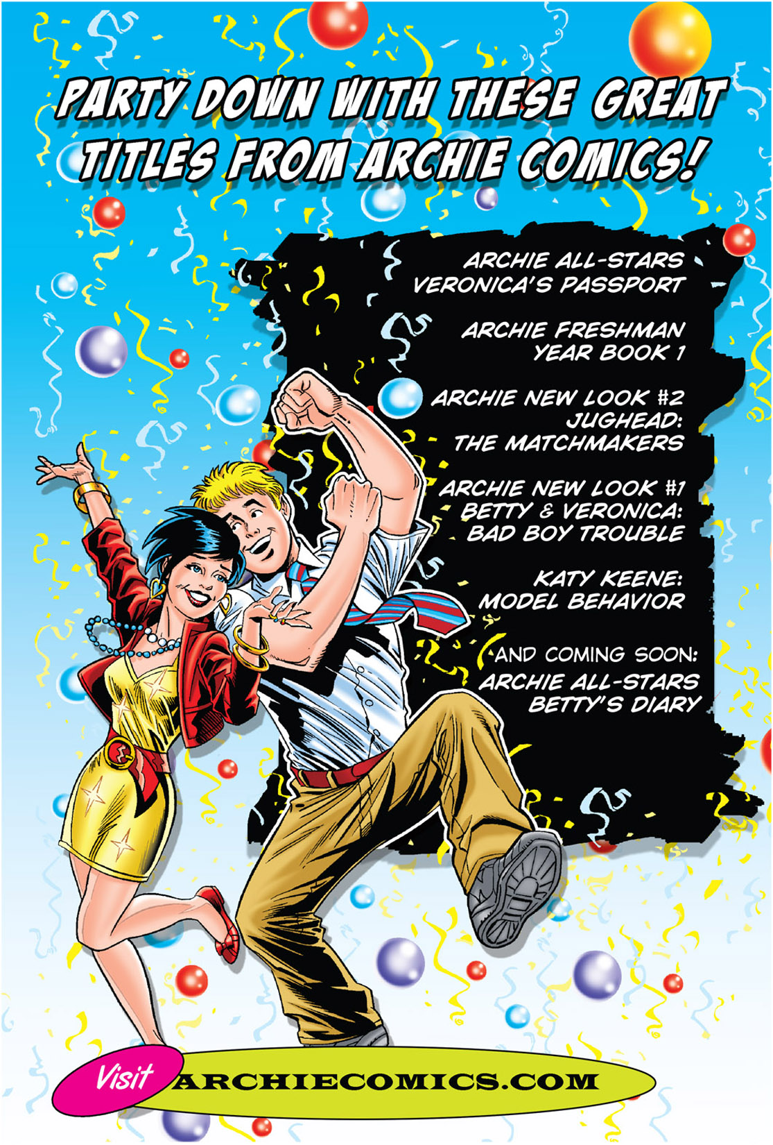 Read online Archie's New Look Series comic -  Issue #3 - 113