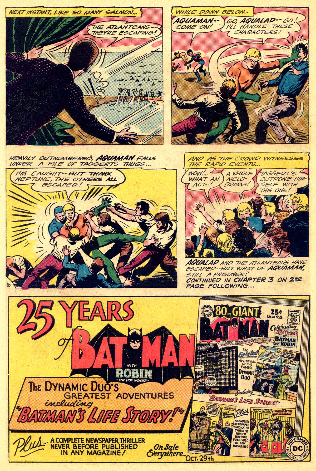 Read online Aquaman (1962) comic -  Issue #19 - 22