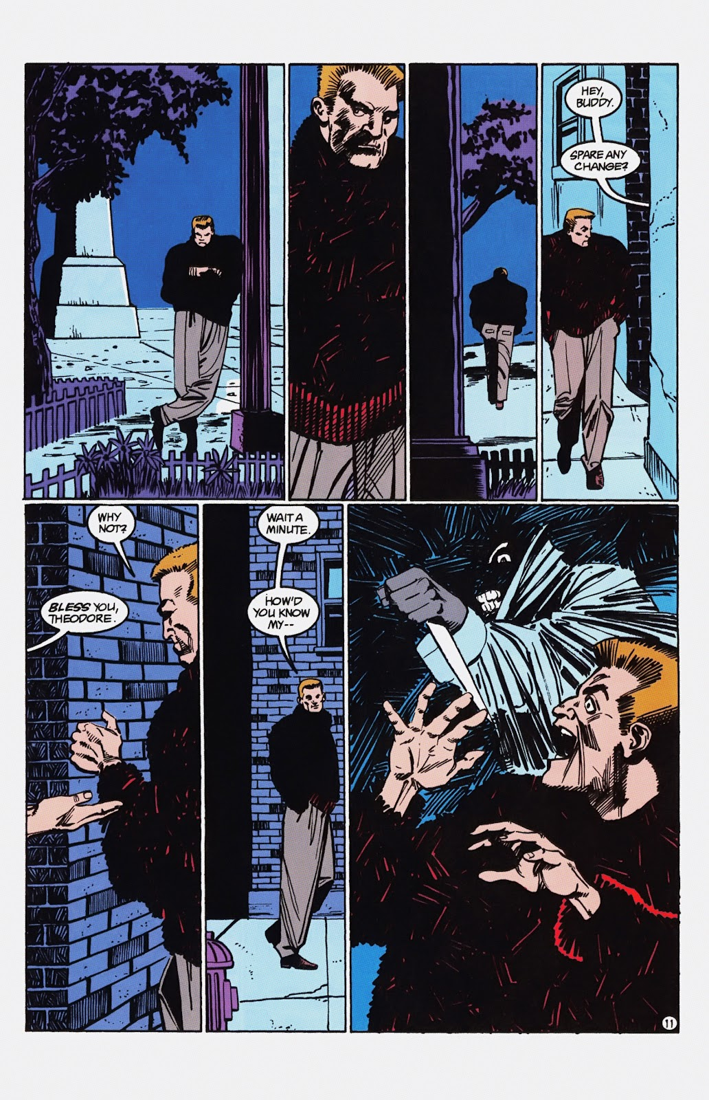 Read online Detective Comics (1937) comic -  Issue # _TPB Batman - Blind Justice (Part 1) - 76