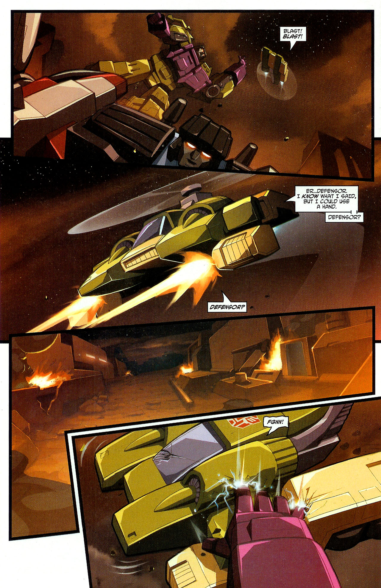 """Read online Transformers War Within: """"The Dark Ages"""" comic -  Issue #3 - 17"""