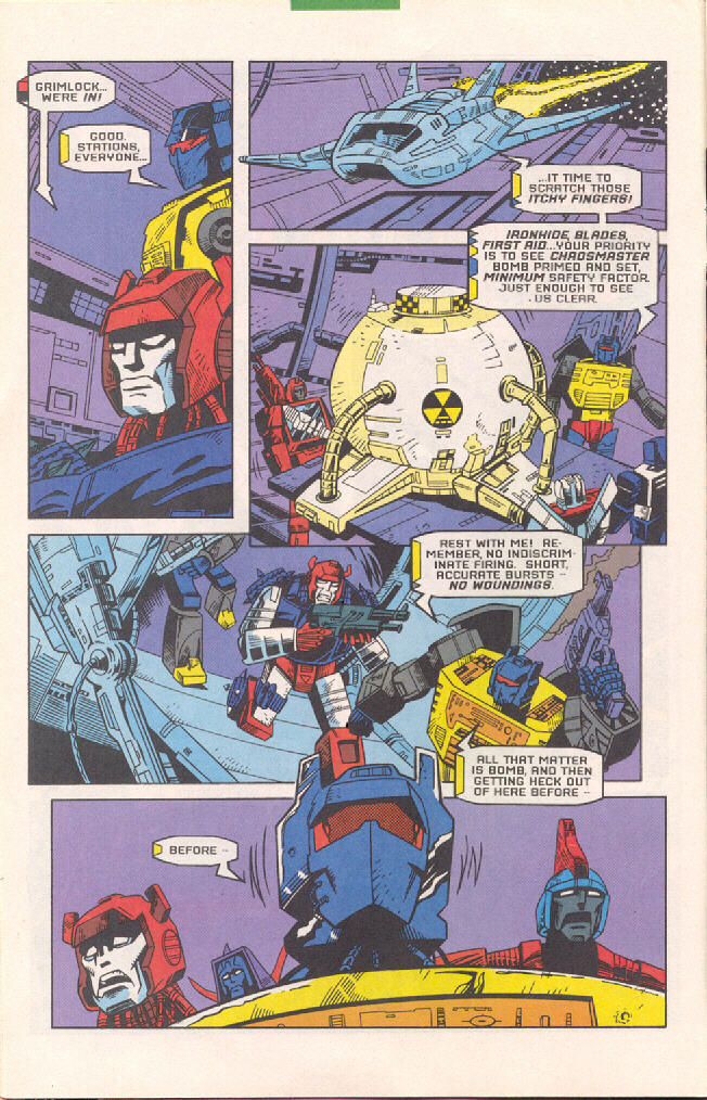 Read online Transformers: Generation 2 comic -  Issue #4 - 9