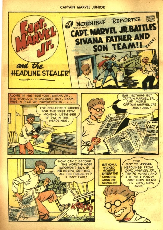 Captain Marvel, Jr. issue 39 - Page 2