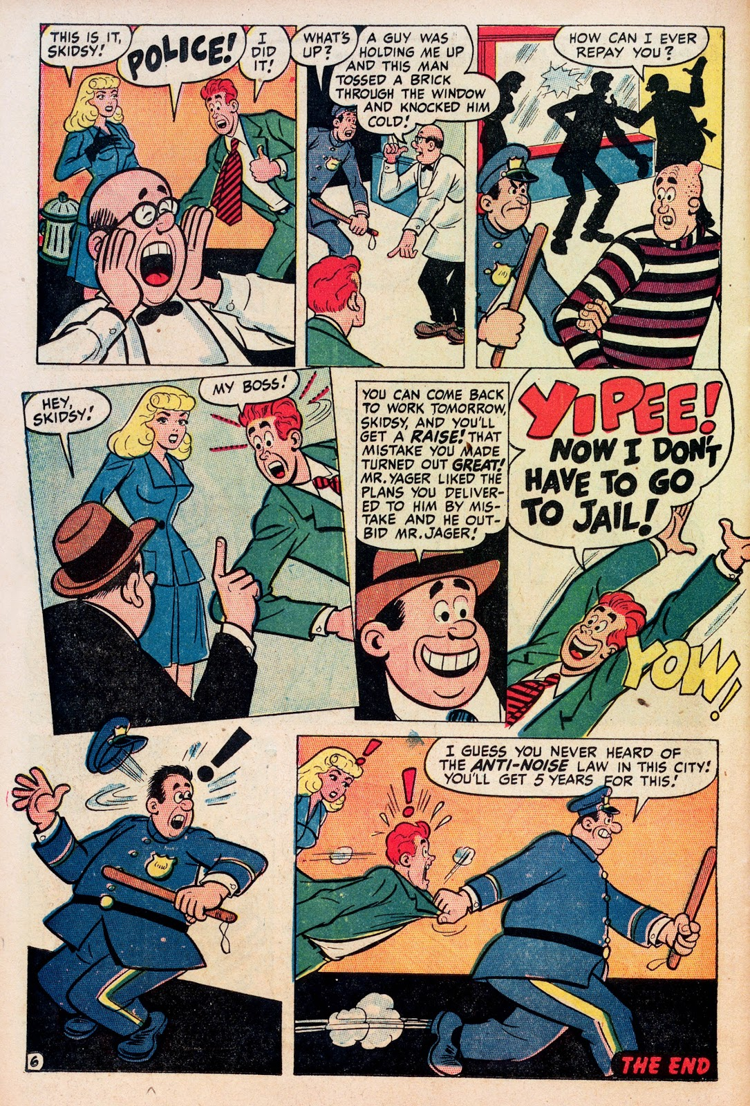 Read online Comedy Comics (1948) comic -  Issue #1 - 24