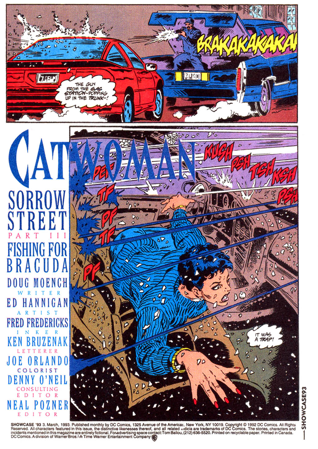 Read online Showcase '93 comic -  Issue #3 - 2