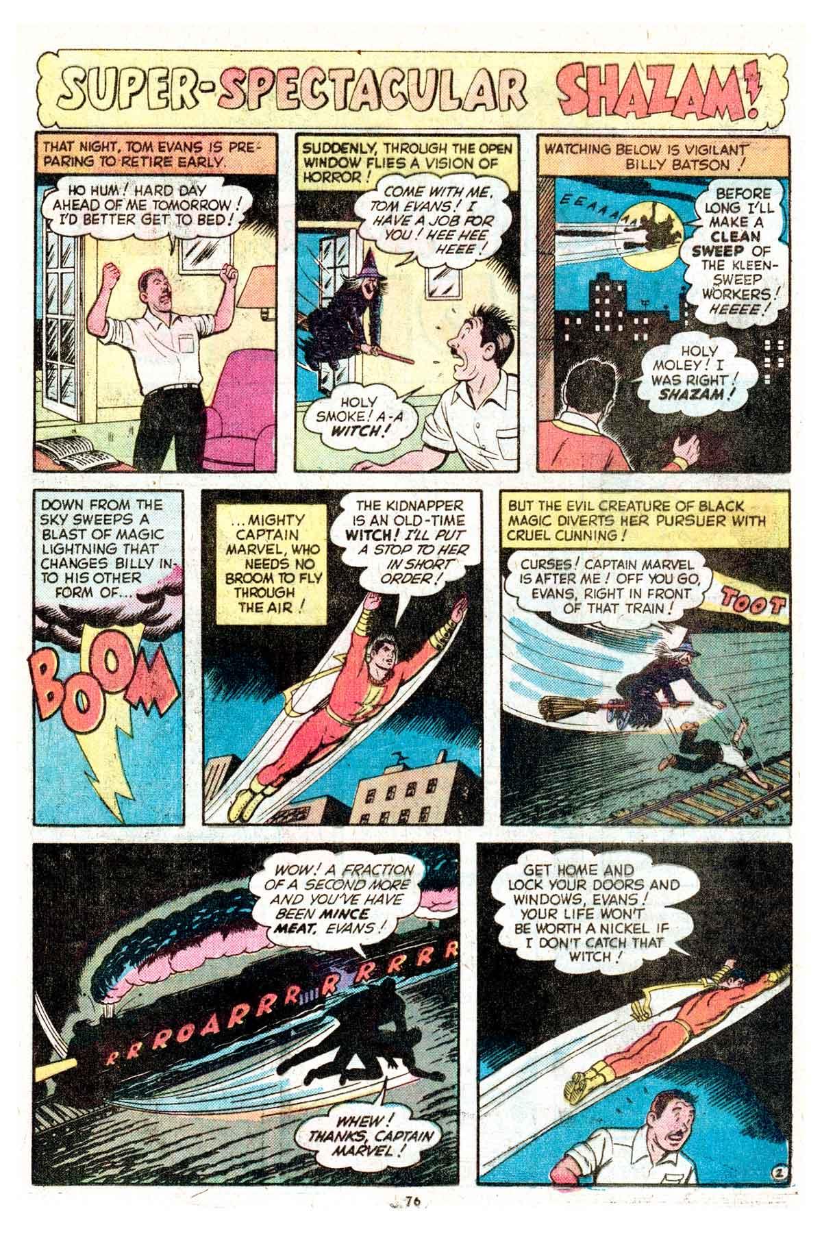 Read online Shazam! (1973) comic -  Issue #17 - 76