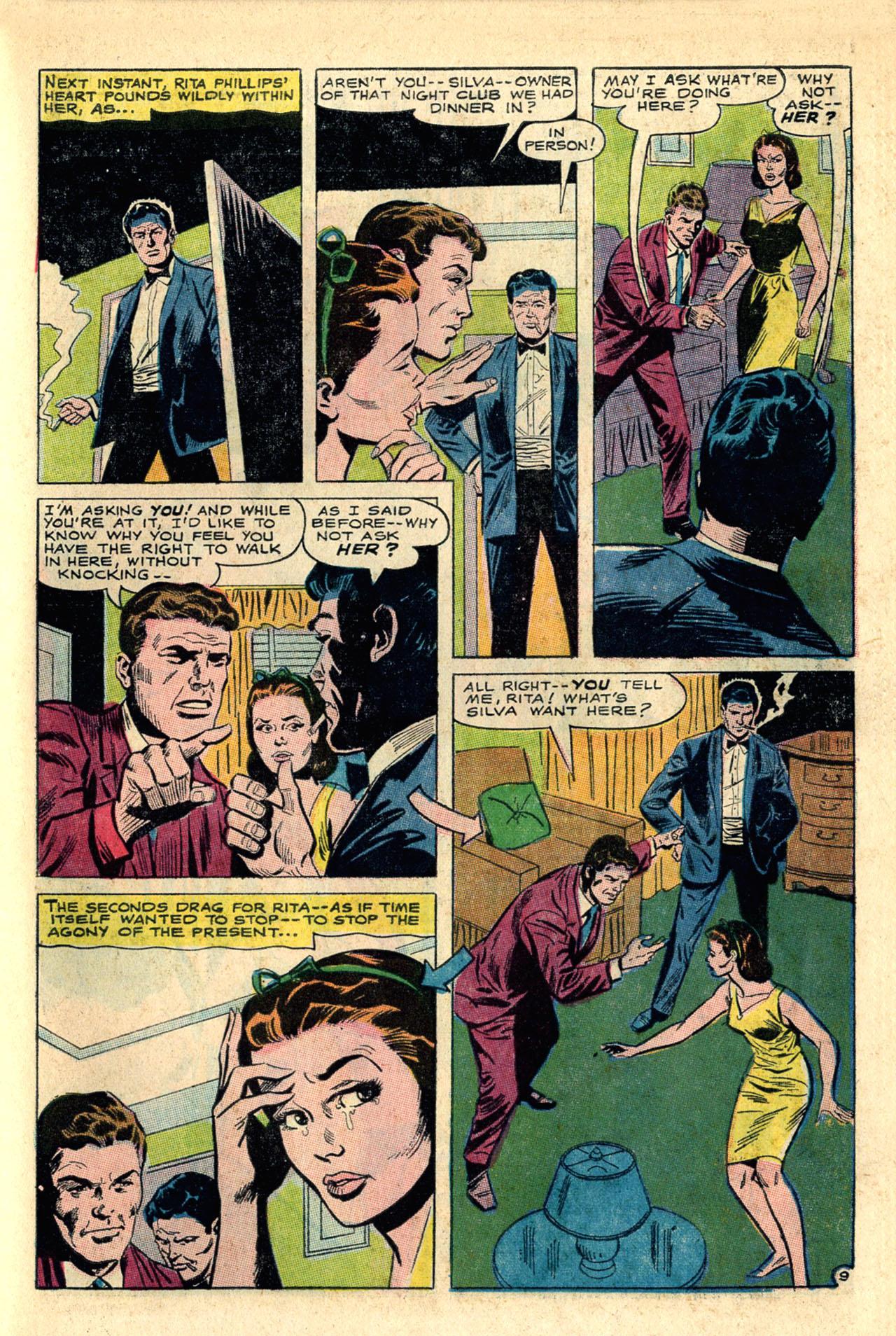 Read online Secret Hearts comic -  Issue #118 - 27