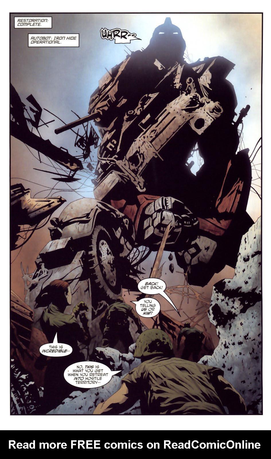 Read online Transformers/G.I. Joe comic -  Issue #2 - 5