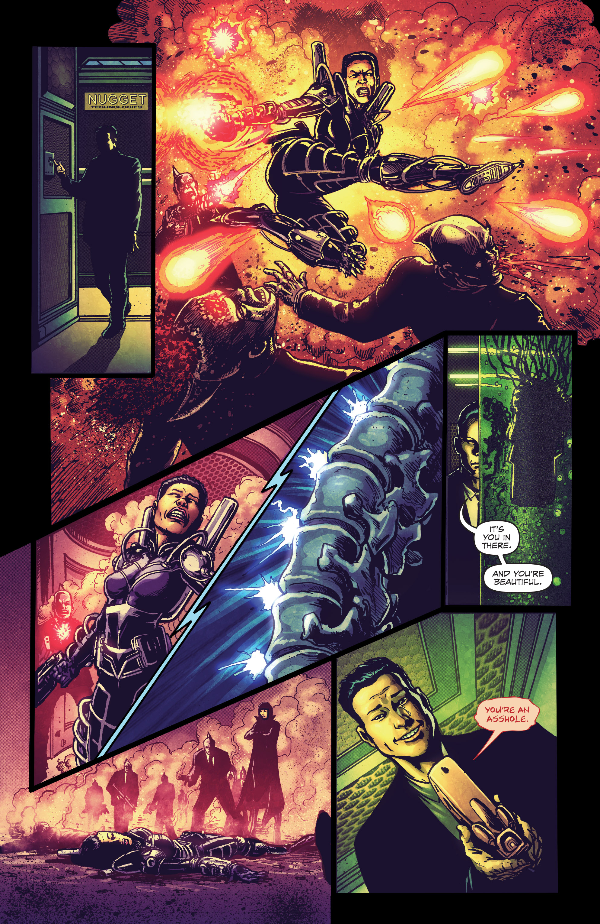 Read online Ballistic (2013) comic -  Issue #4 - 16